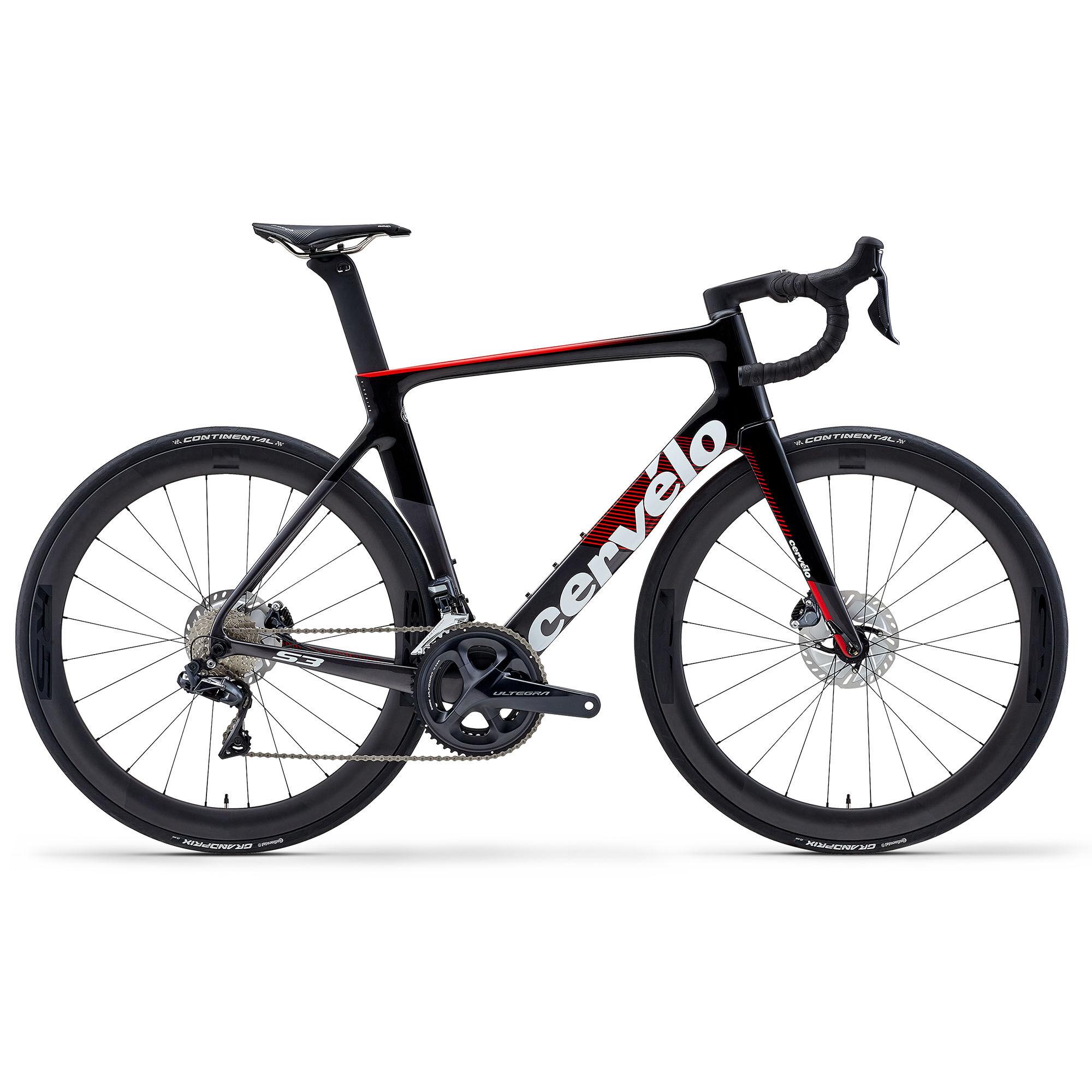 Cervelo Men's S3 Disc Ultegra DI2 Aero Road Bike '20  - Graphite/Black - Size: 58