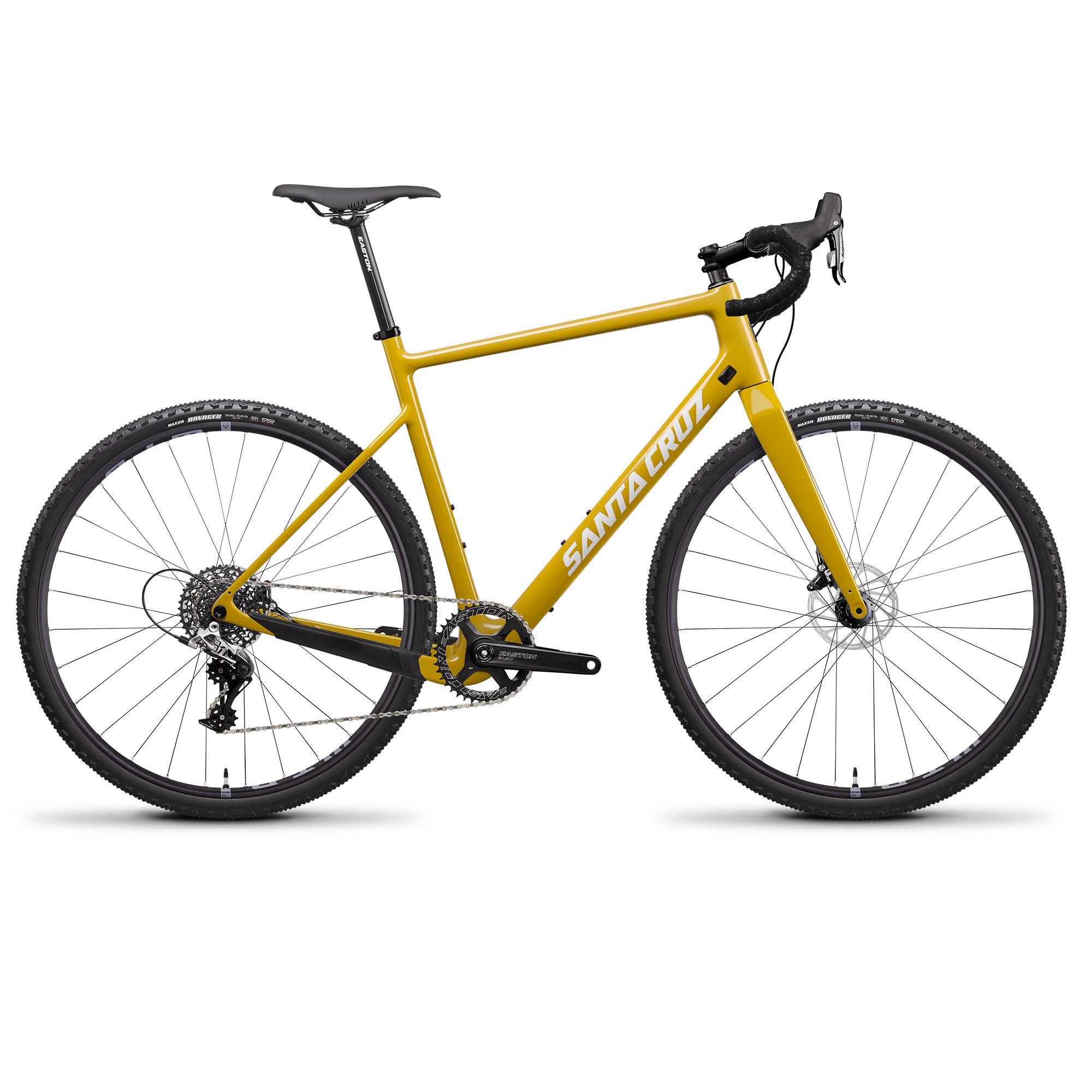 Santa Cruz Men's Stigmata 3.0 CC Rival Gravel Bike '20  - Mustard - Size: 52