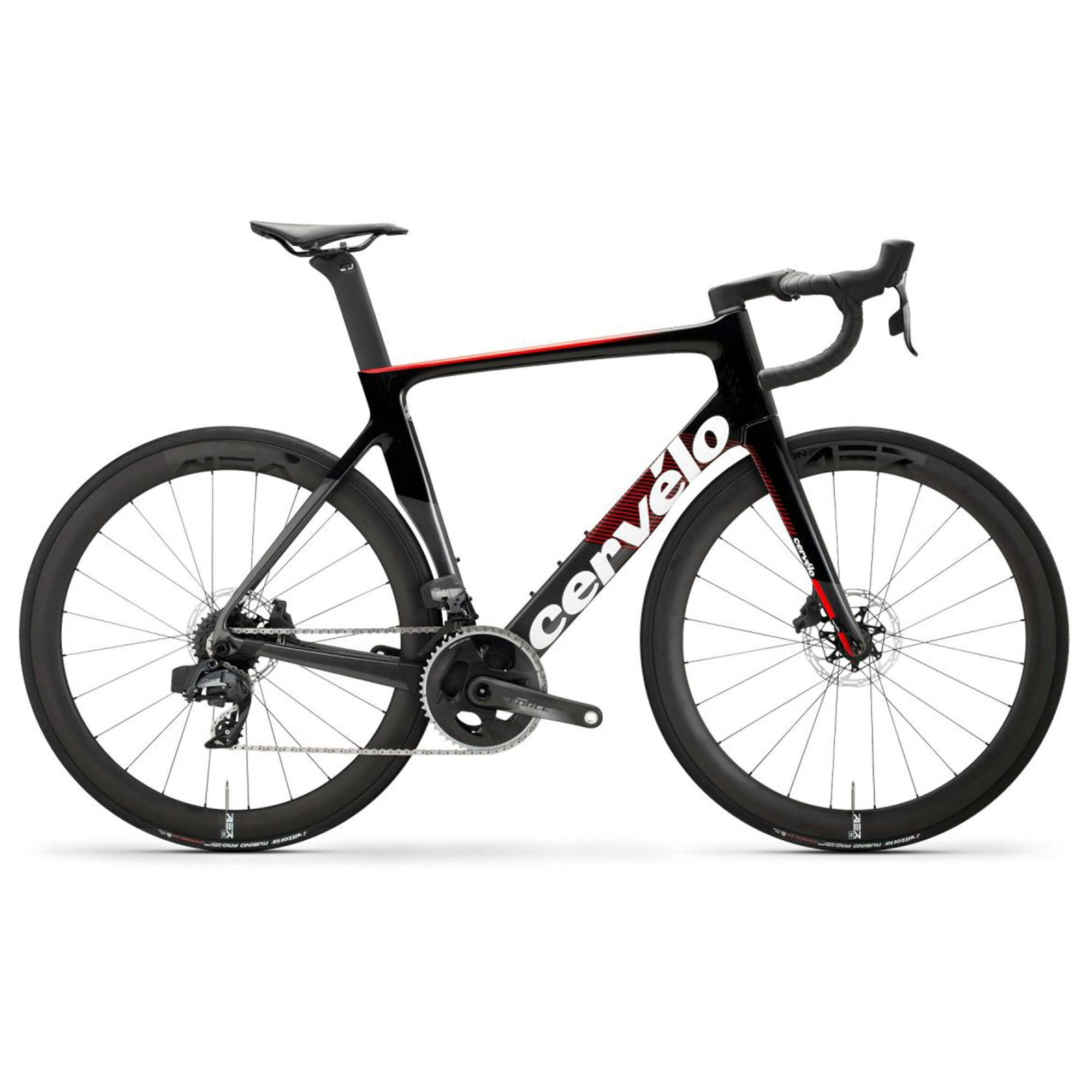Cervelo Men's S-Series Force AXS Road Bike '20  - Graphite/Black/Red - Size: 54