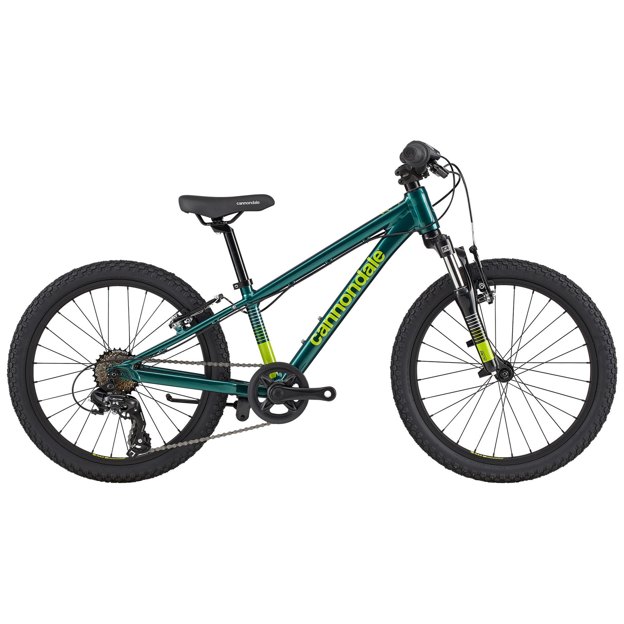 Cannondale Kids' Trail 20 Boys Bike '20  - Emerald - Size: 20