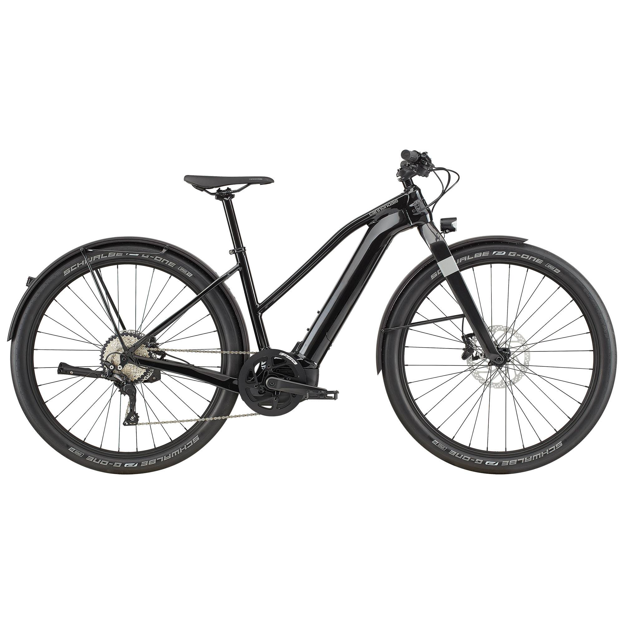 Cannondale Canvas Neo 1 Remixte Electric Bike '20  - Black - Size: Medium