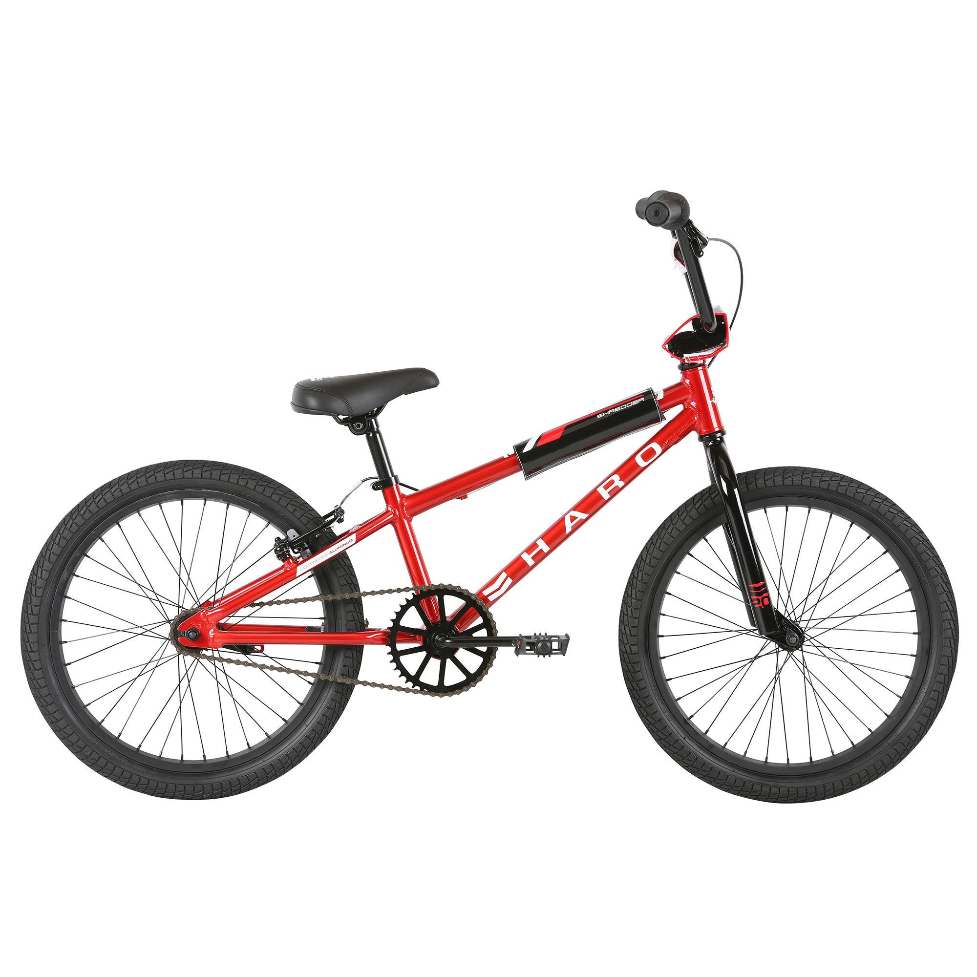 Haro Boy's Shredder 20 Sidewalk Bike '21  - Matte Black - Size: 20