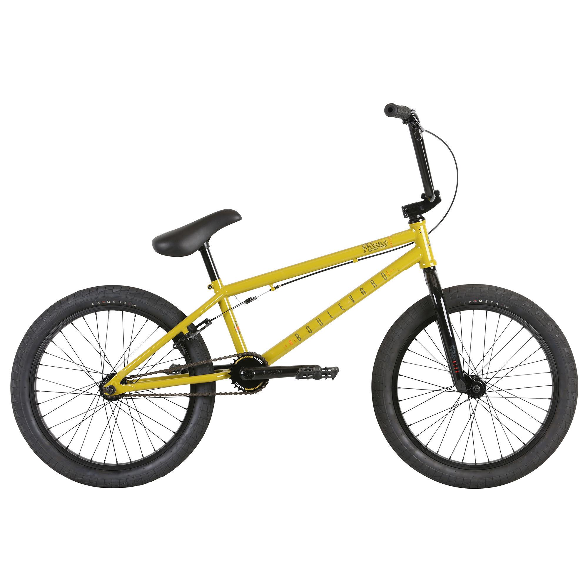 Haro Boulevard 20.75 BMX Bike '21  - Matte Black - Size: 20.75