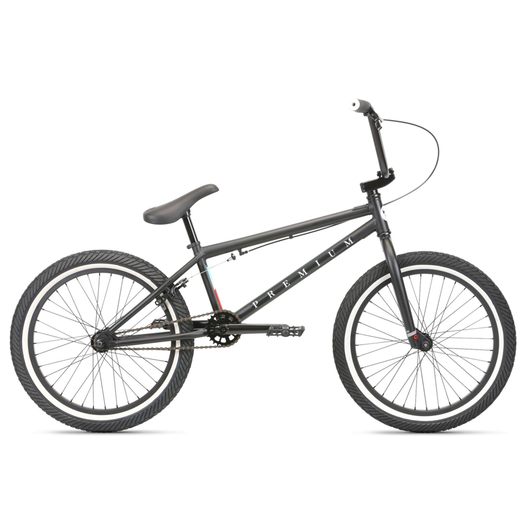 Premium Men's Stray 20.5 BMX Bike '20  - Blue - Size: 20.5
