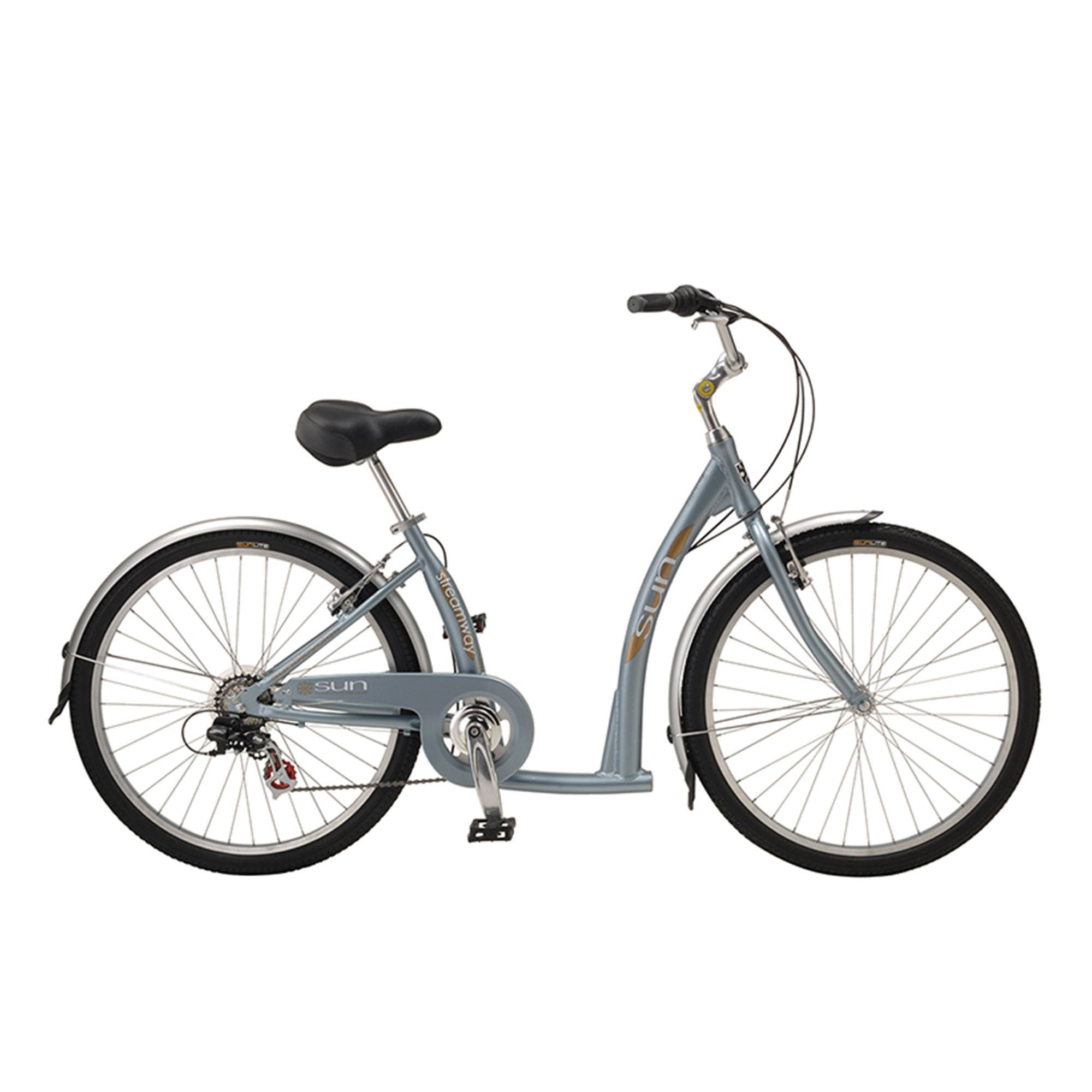 Sun Bicycles Streamway 7 Comfort Bike '20  - Pacific Blue - Size: One Size