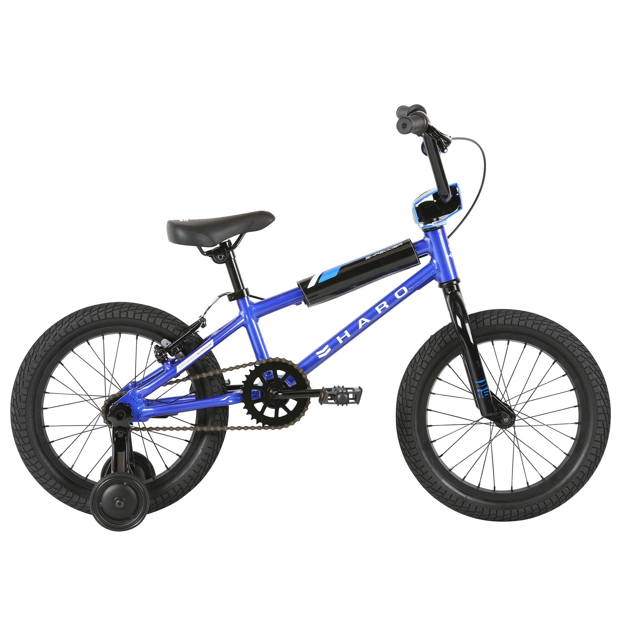 Haro Boy's Shredder 16 Sidewalk Bike '21  - Matte Black - Size: 16