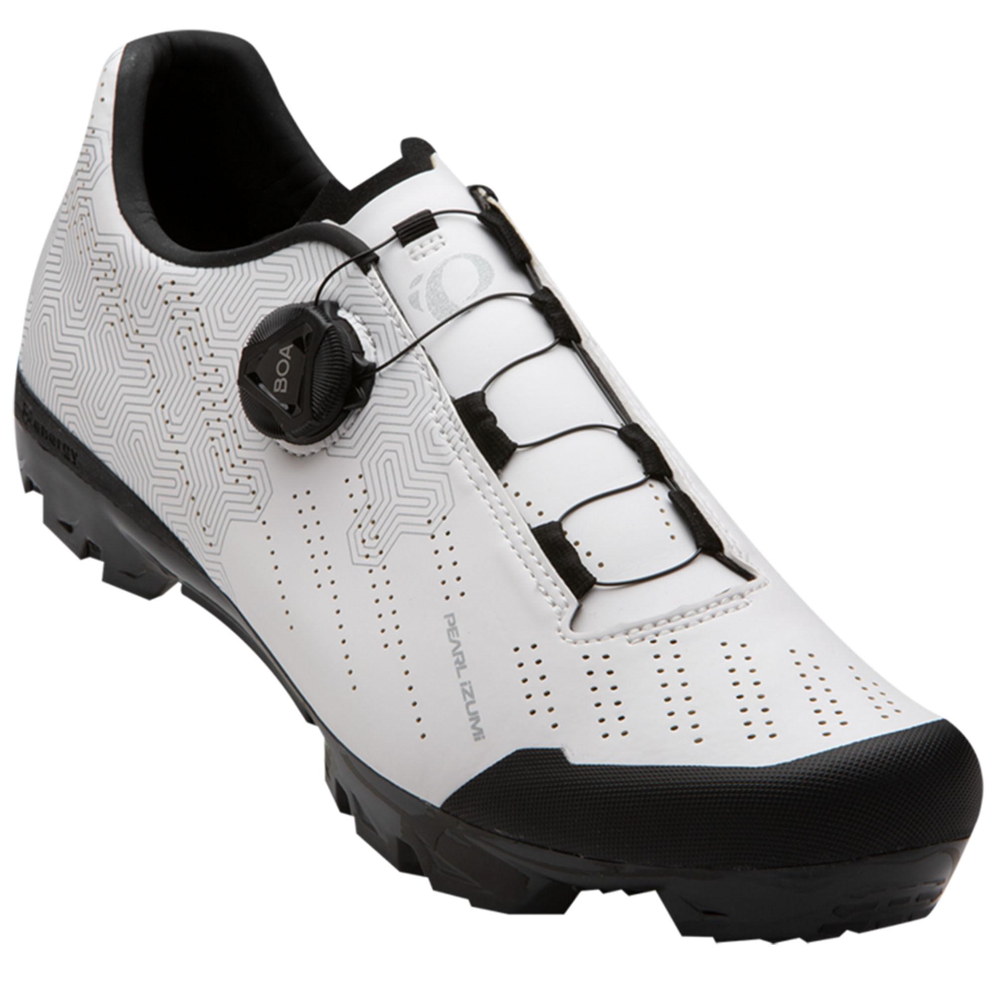 Pearl Izumi Men's X-Alp Gravel Bike Shoes  - Black/Black - Size: 48