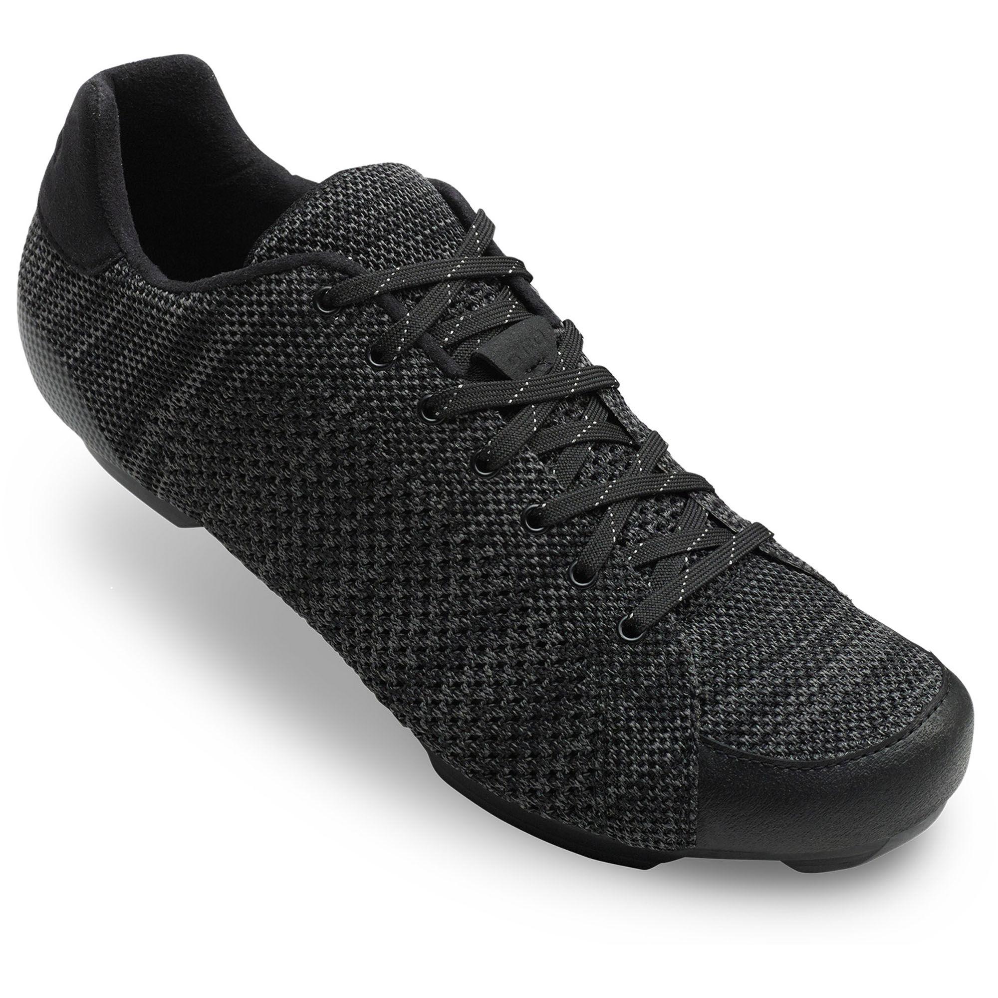 Giro Men's Republic R Knit Road Cycling Shoes  - Midnight/Blue Heather - Size: 39