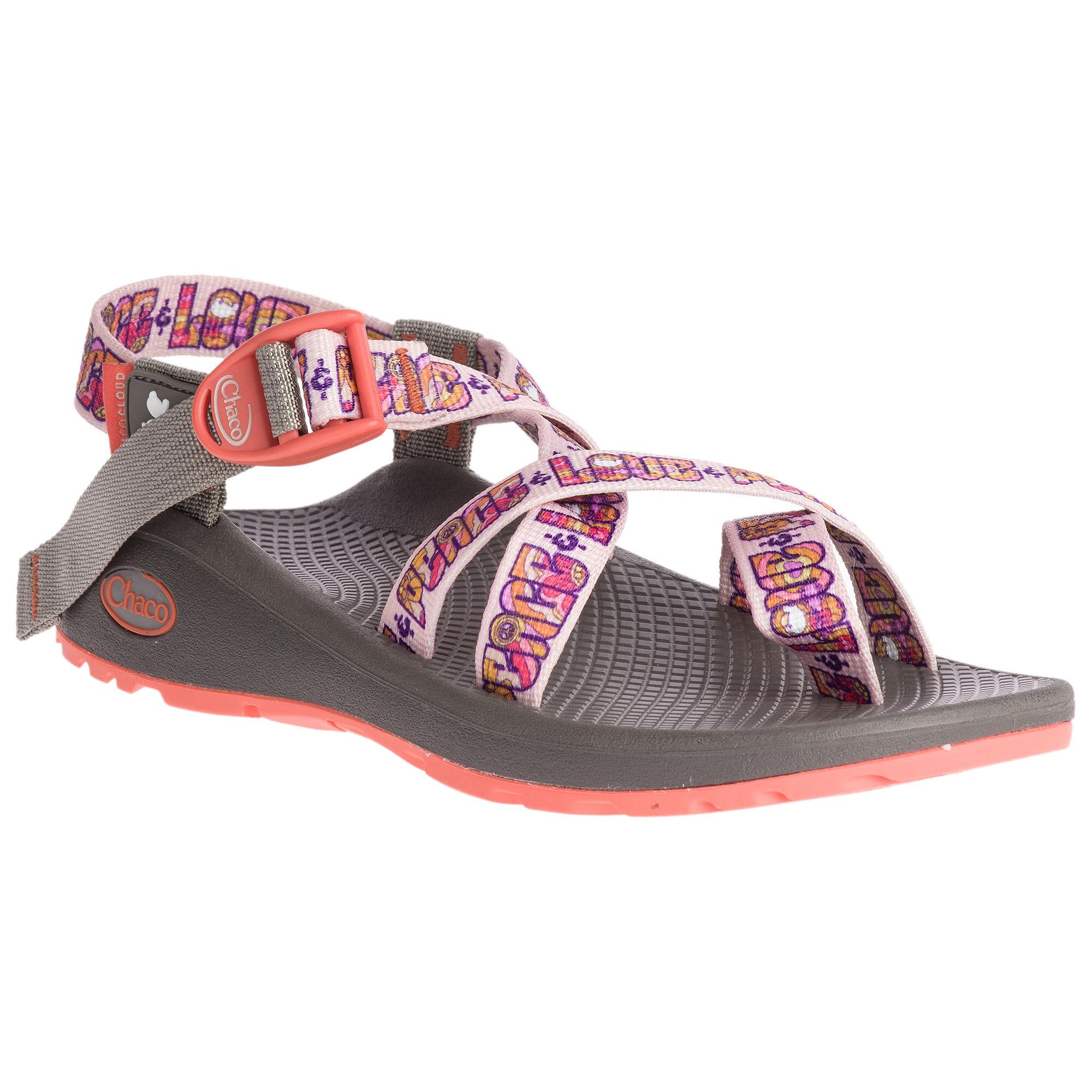Chaco Women's Z/Cloud 2 Woodstock Sandals  - Peach Peace - Size: 7