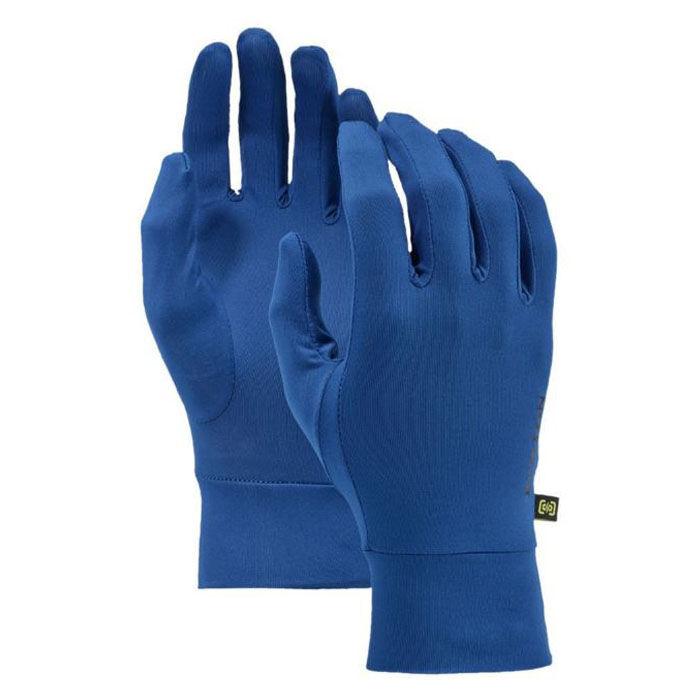 Burton Men's Touchscreen Liner Gloves  - True Black - Size: Medium