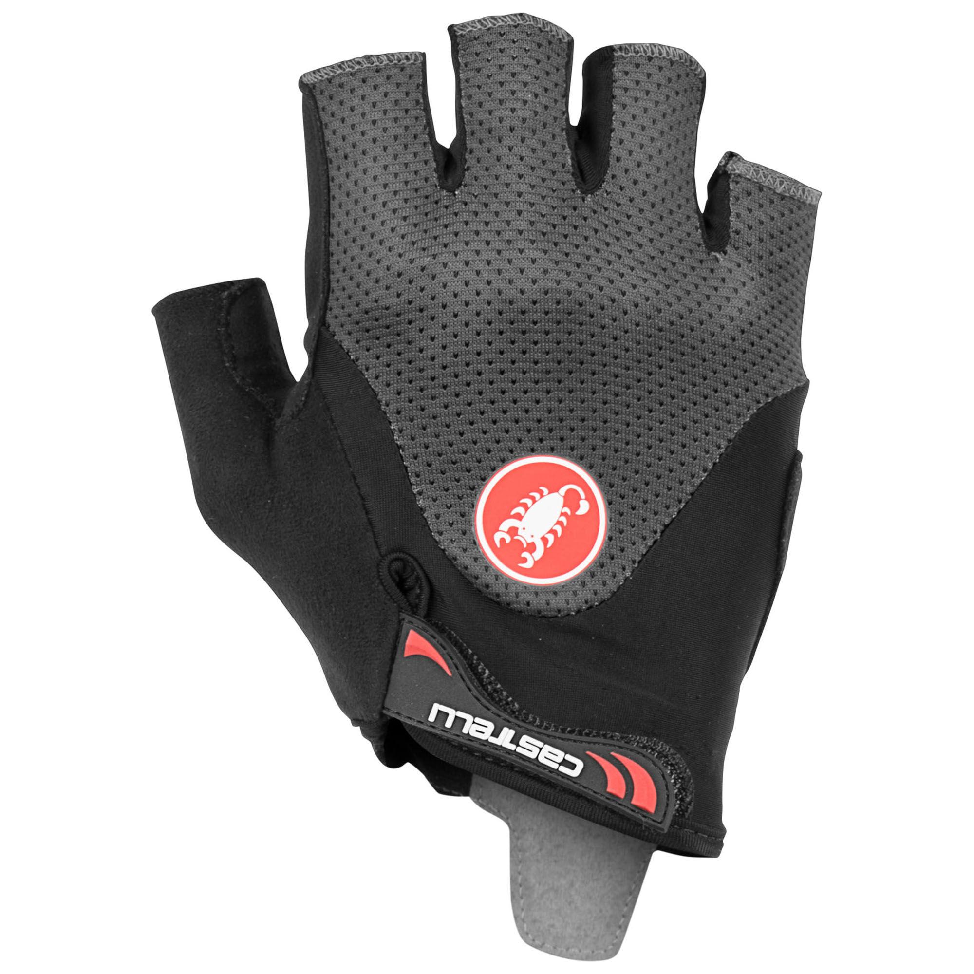 Castelli Men's Arenberg Gel 2 Bike Gloves  - Black/Ivory - Size: Medium