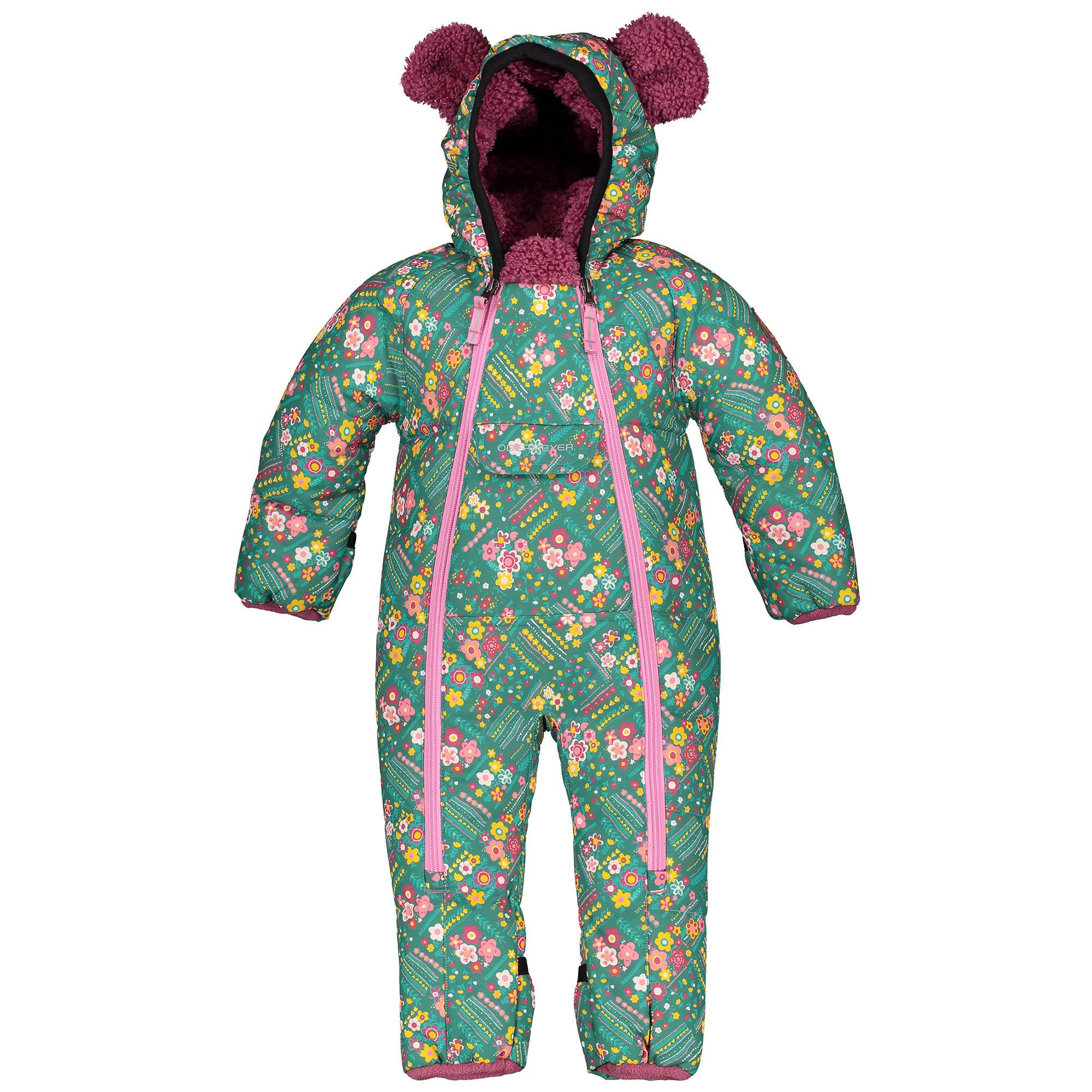 Obermeyer Girl's Kleine Bunting Infant Suit  - Garden Patch - Size: 12MO-18MO