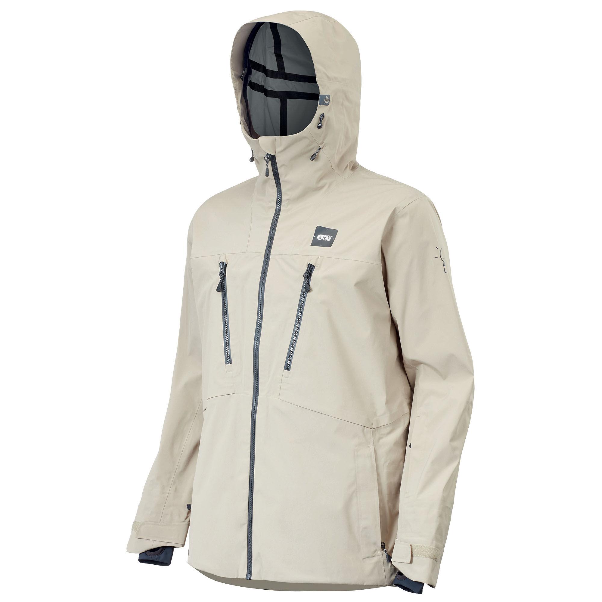 Picture Organic Clothing Men's Demain Snow Jacket  - Stone - Size: Medium