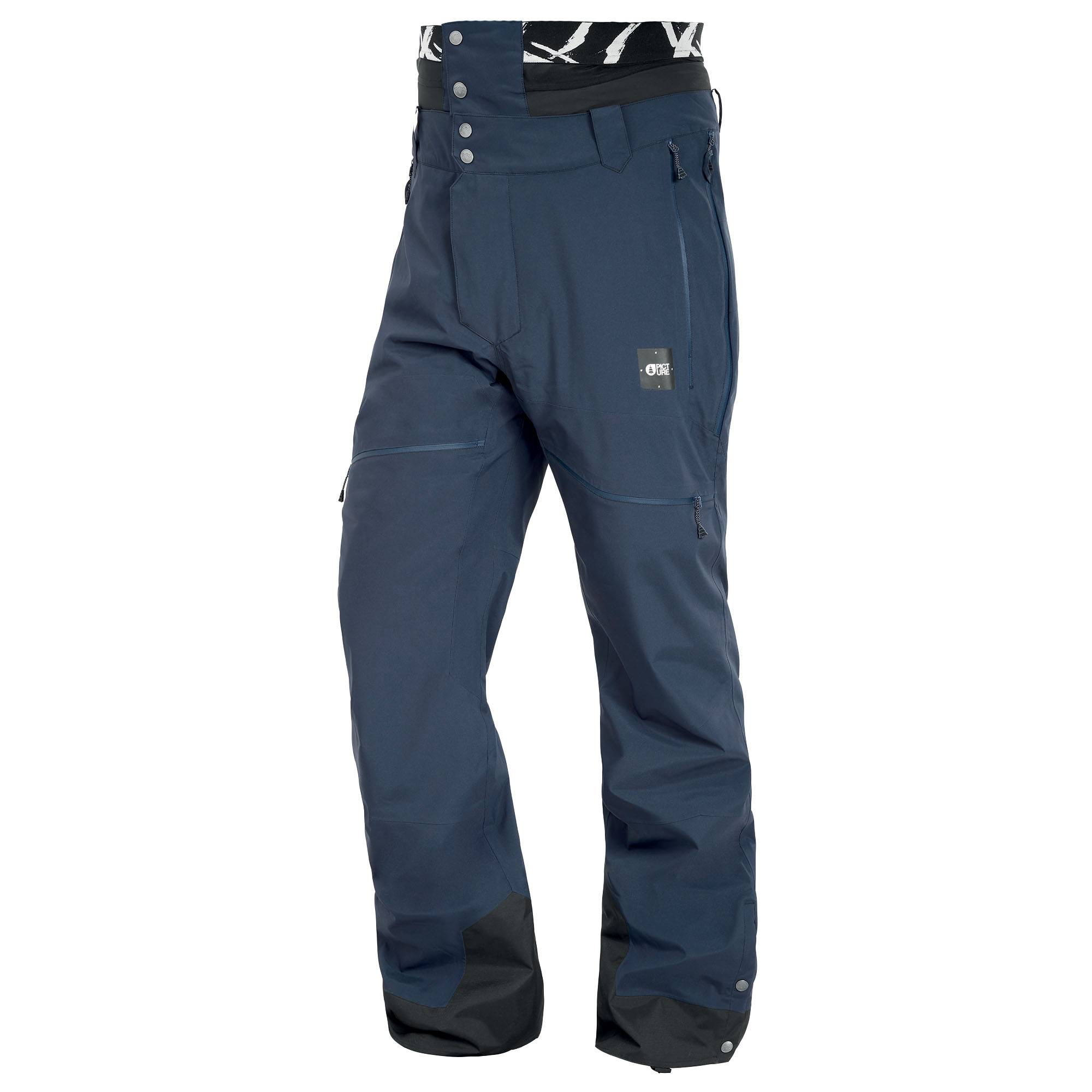 Picture Organic Clothing Men's Naikoon Snow Pants  - Dark Blue - Size: Extra Large