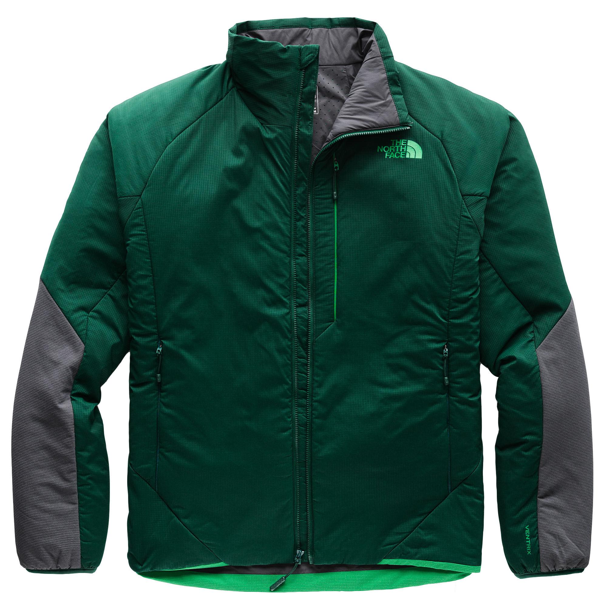 The North Face Men's Ventrix Jacket, Green  - Botanical Garden Green/Vanadis G - Size: Large