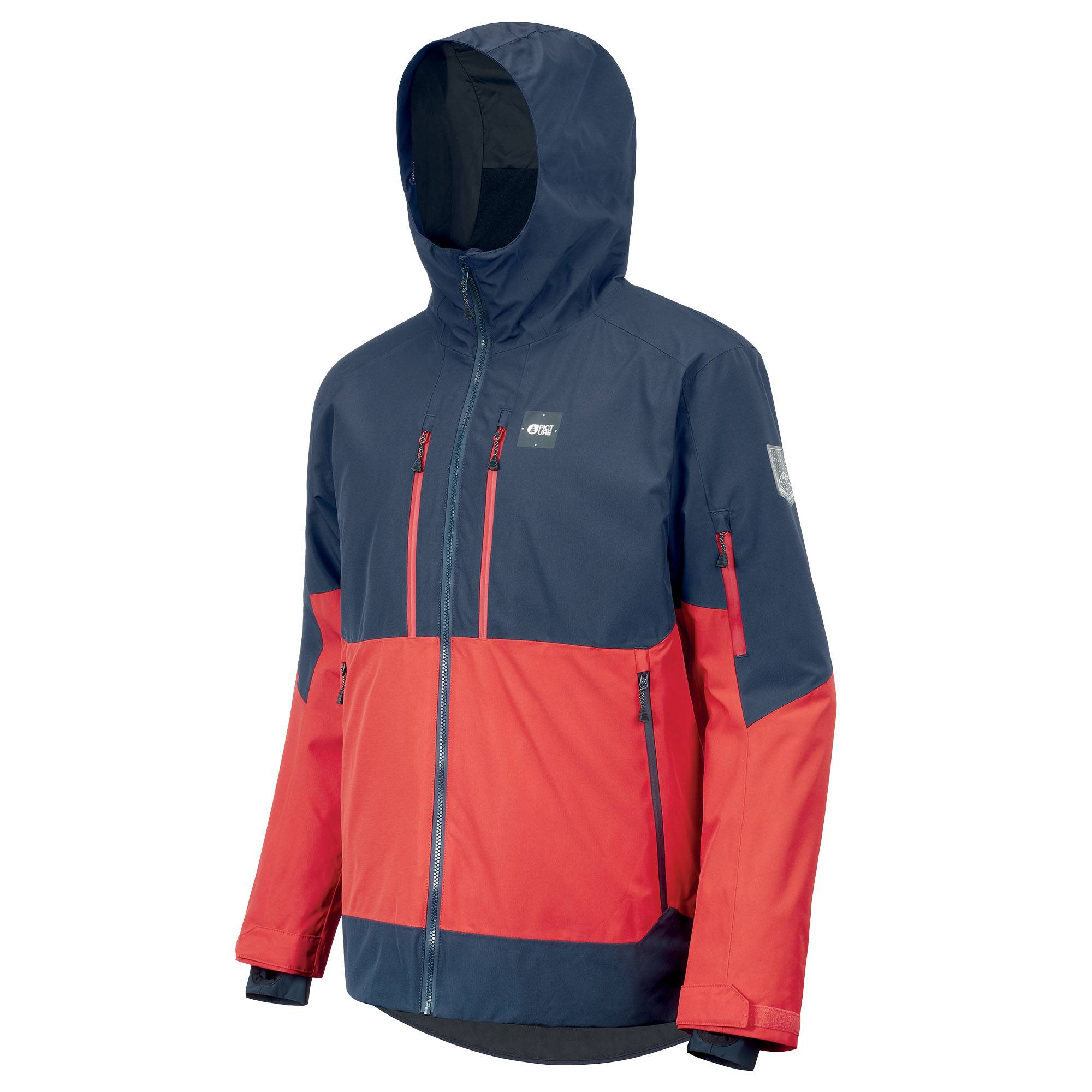 Picture Organic Clothing Men's Duncan 3 In 1 Snow Jacket  - Red - Size: Small
