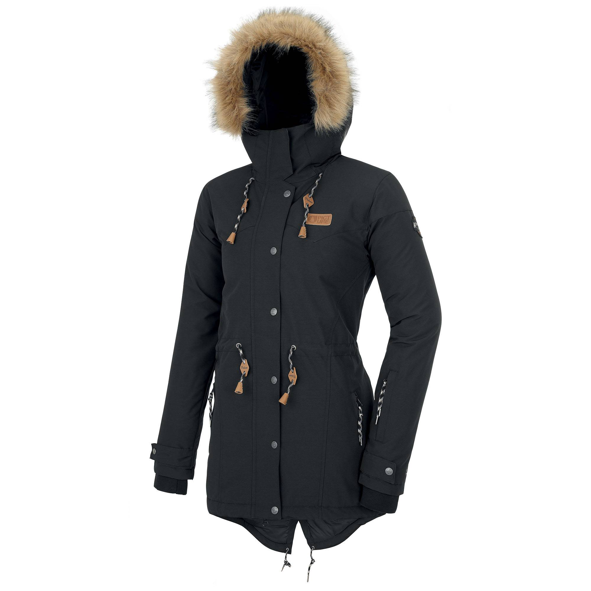 Picture Organic Clothing Women's Katniss Snow Jacket  - Black - Size: Extra Large