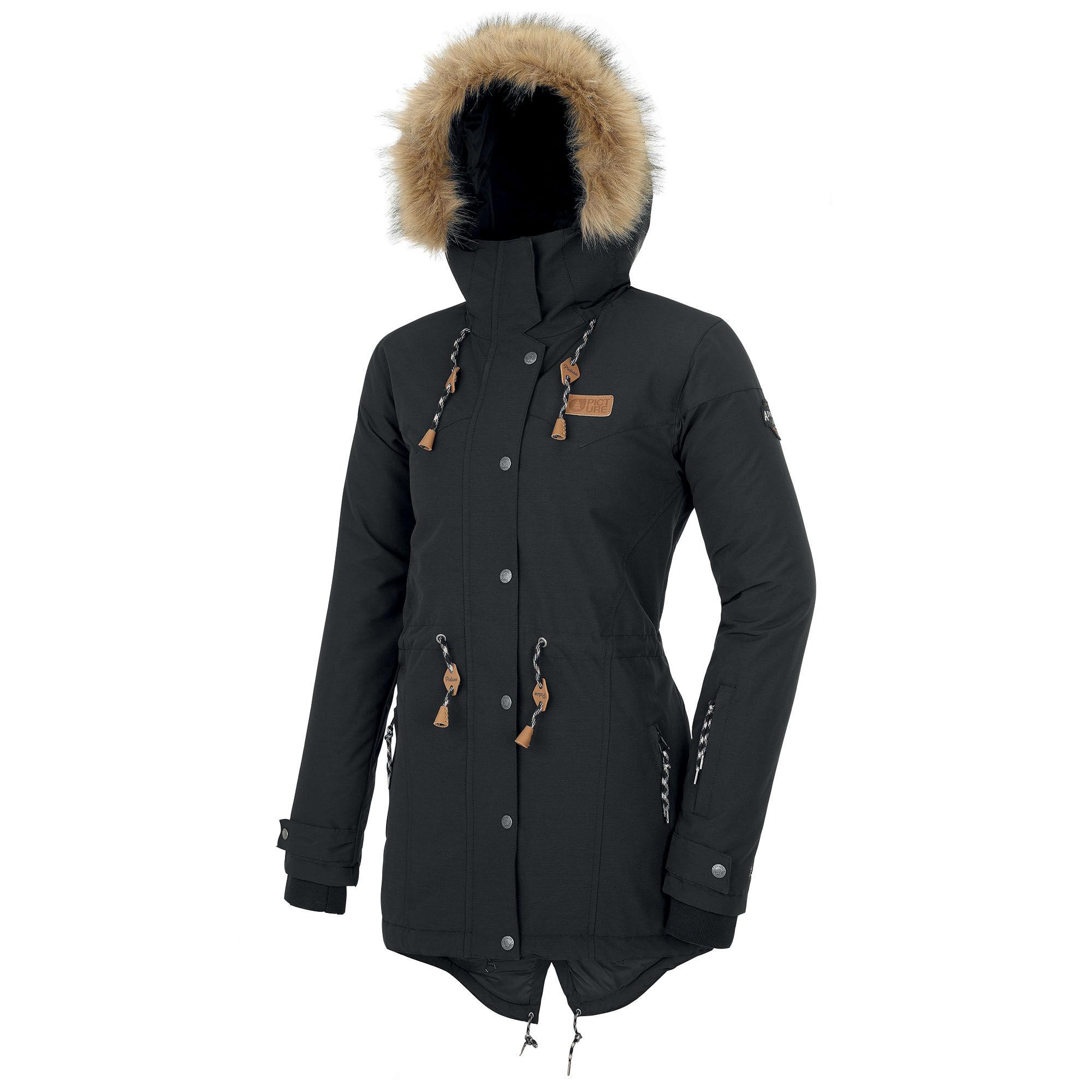 Picture Organic Clothing Women's Katniss Snow Jacket  - Black - Size: Large
