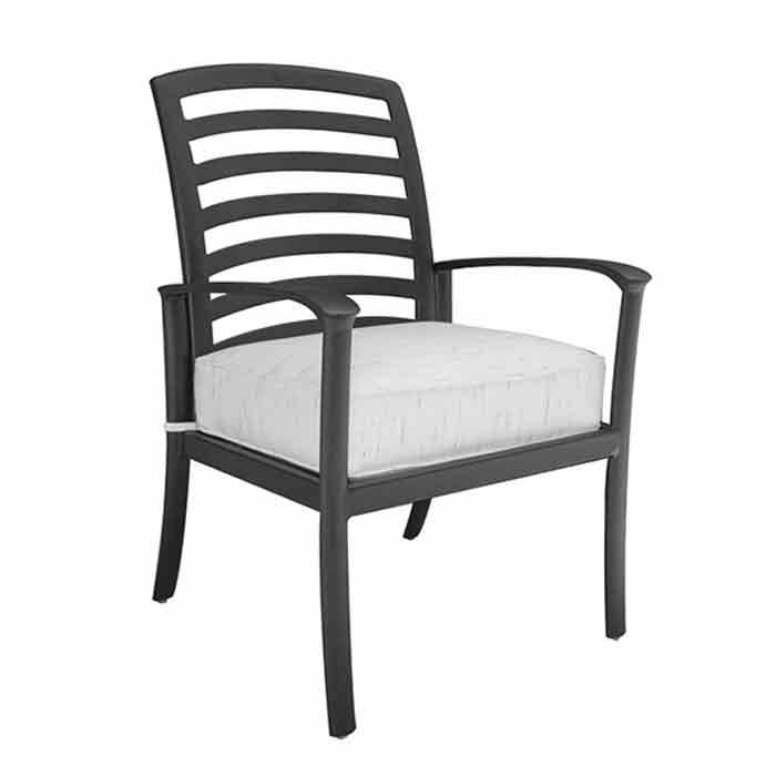 Hanamint Edgewood Dining Chair  - Antique Bronze - Size: One Size