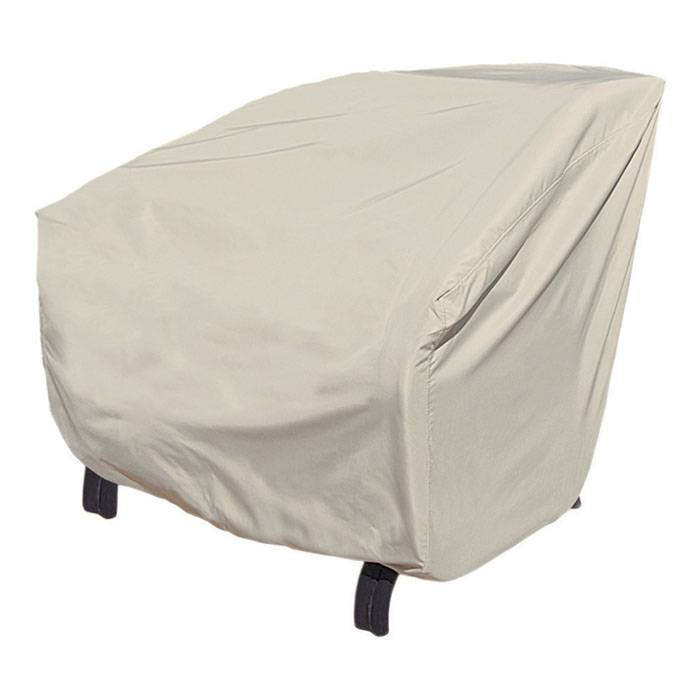 Treasure Garden X-Large Lounge Chair Cover  - Tan - Size: One Size