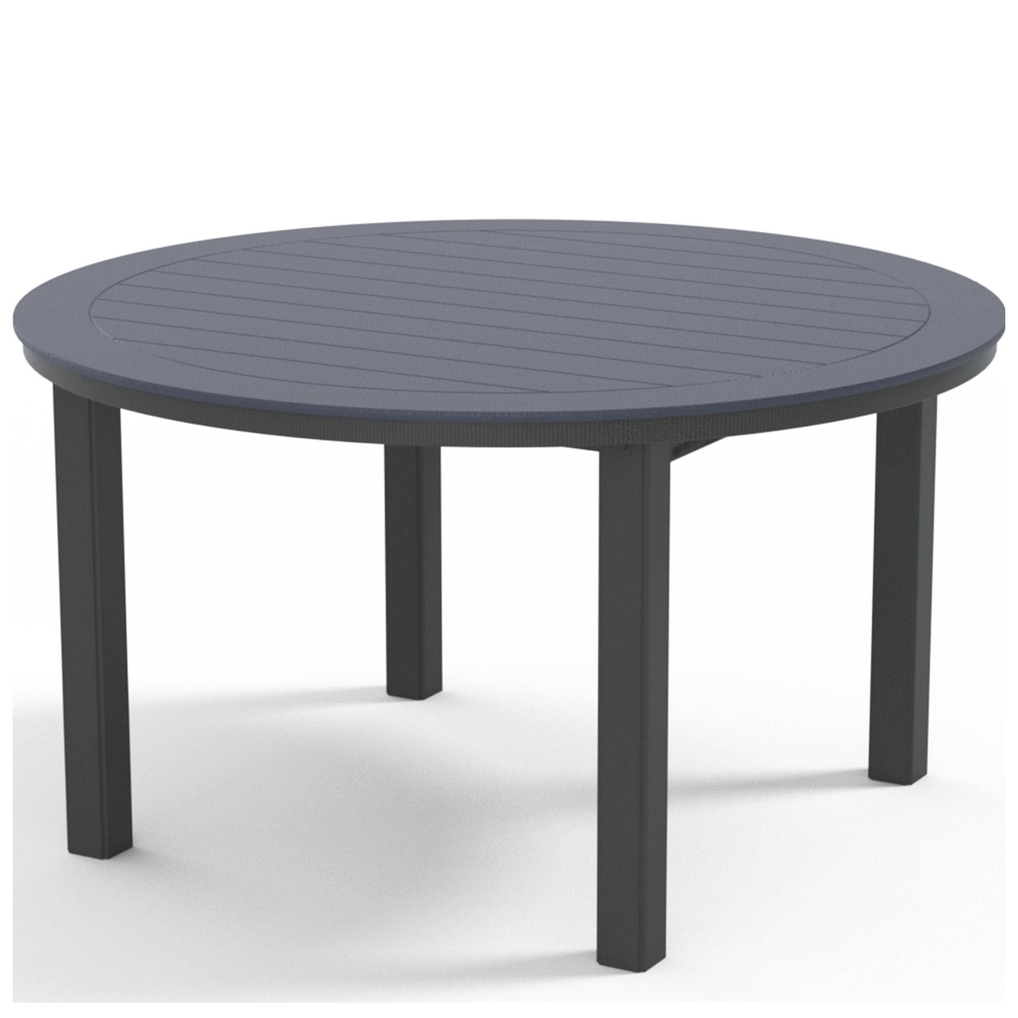 """Telescope Casual 54"""" Round Dining Height Table Top  - Navy - Size: One Size"""