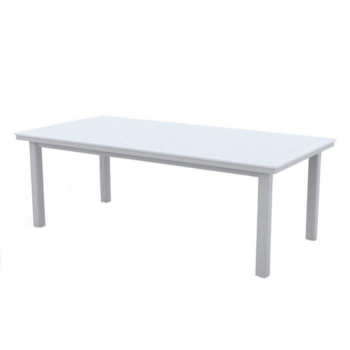 Telescope Casual Dining Height Table Legs Only  - Snow - Size: One Size