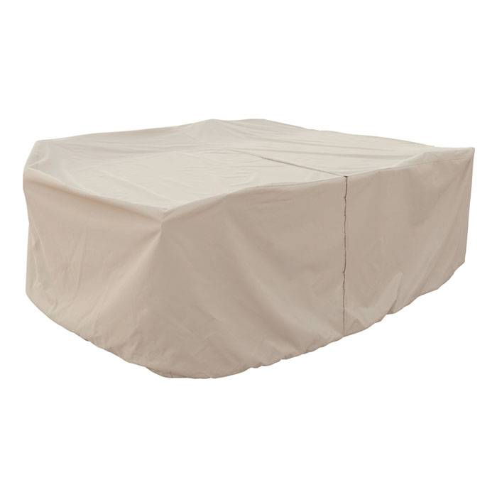 Treasure Garden Medium Table And Chair Cover  - Tan - Size: One Size