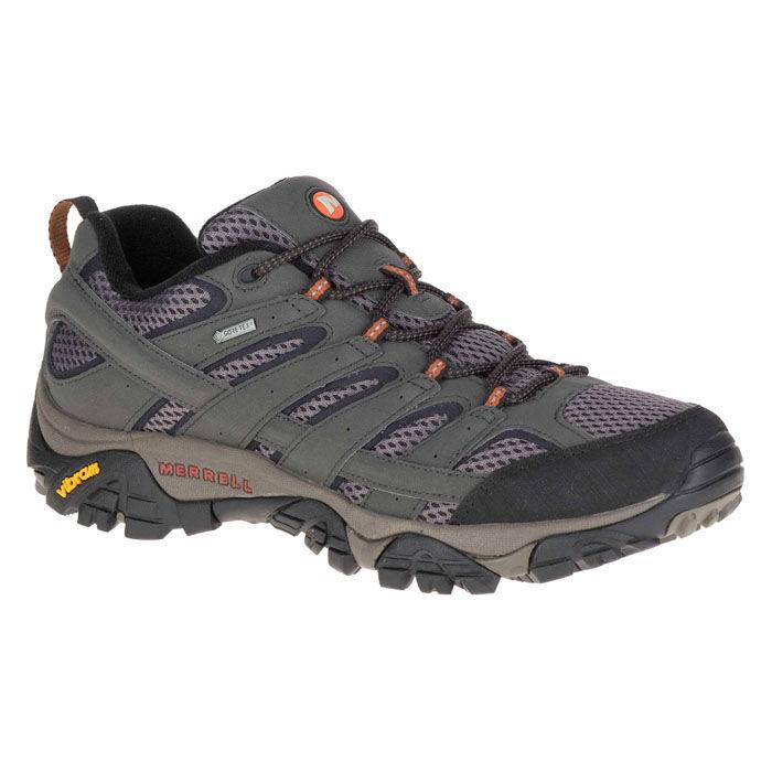 Merrell Men's Moab 2 Gore-tex Hiking Shoes  - Beluga - Size: 12