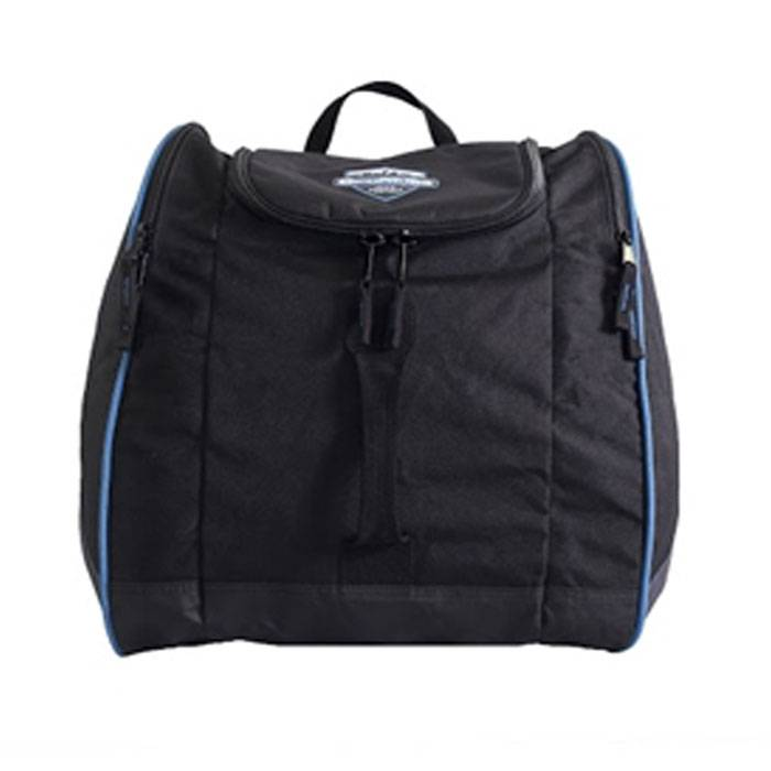 Sportubes Wanderer Boot Bag  - Black/Blue - Size: One Size