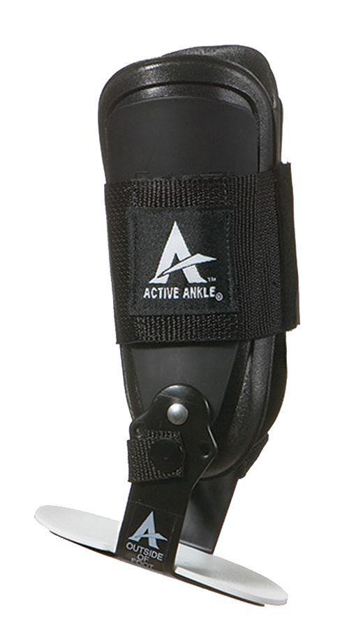 Cramer Active Ankle T2 Rigid Multi-Sport Ankle Brace, Large, Black