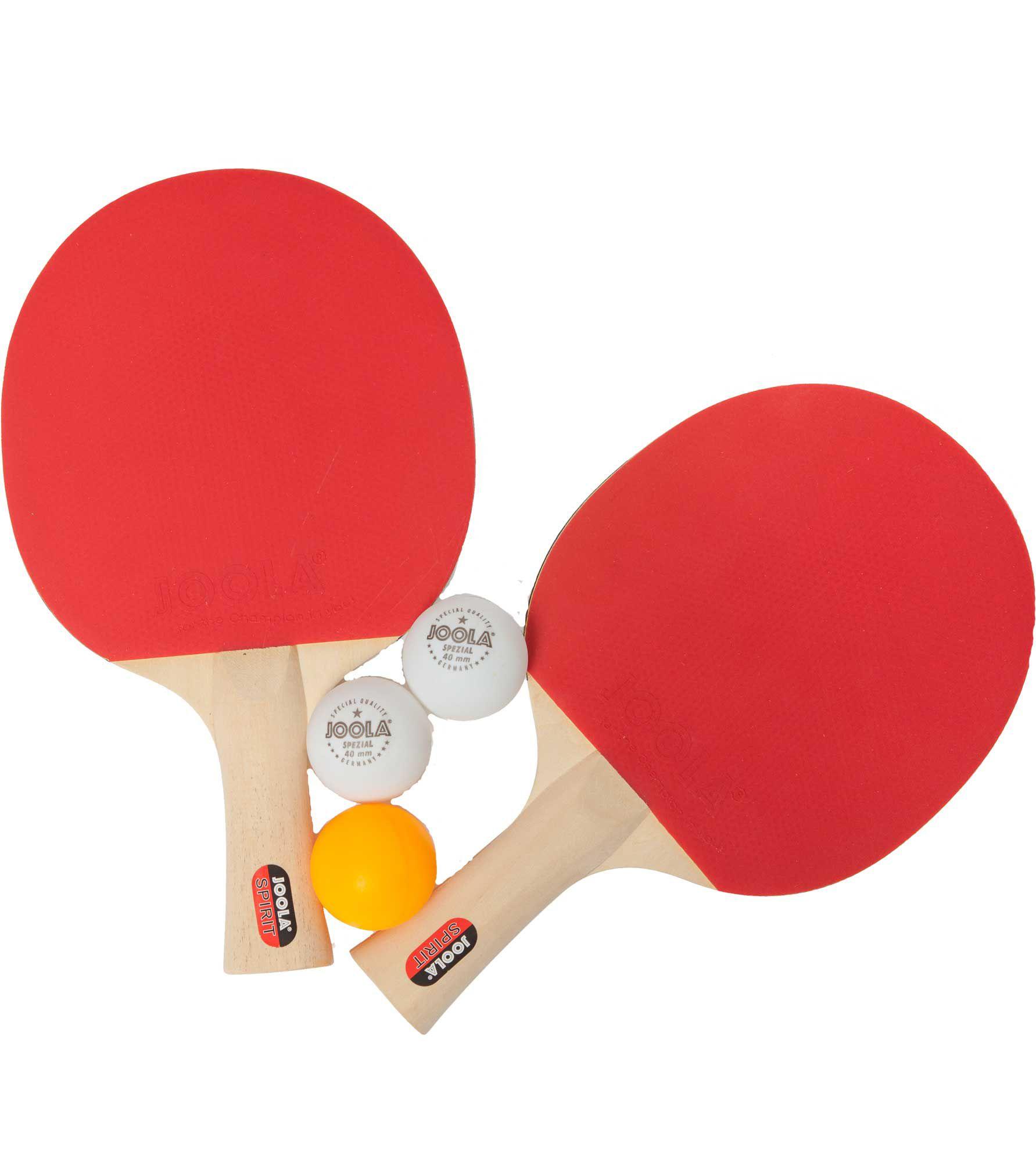 Sport Squad JOOLA Table Tennis Spirit Racket Set, orange