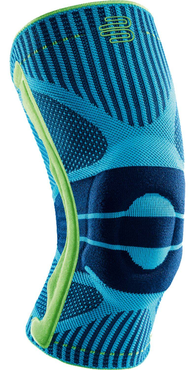 Bauerfeind Sports Knee Support, Small, Blue