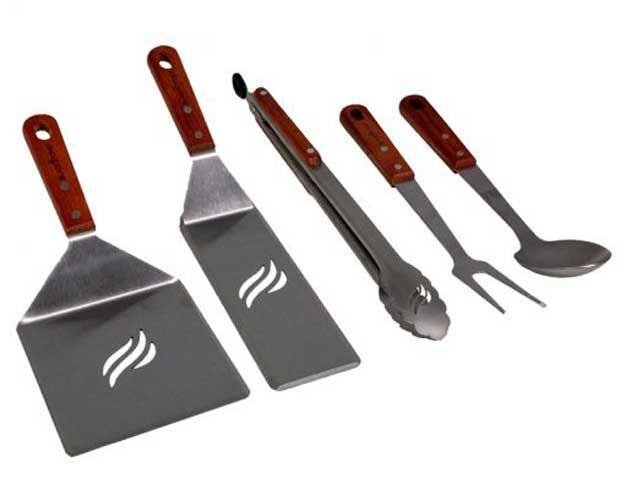 Blackstone 5-Piece Deluxe Outdoor Cooking Set, rust