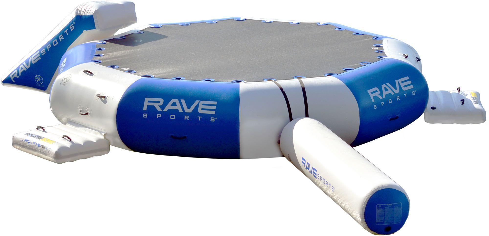 Rave Sports Splash Zone Plus Water Park, Blue