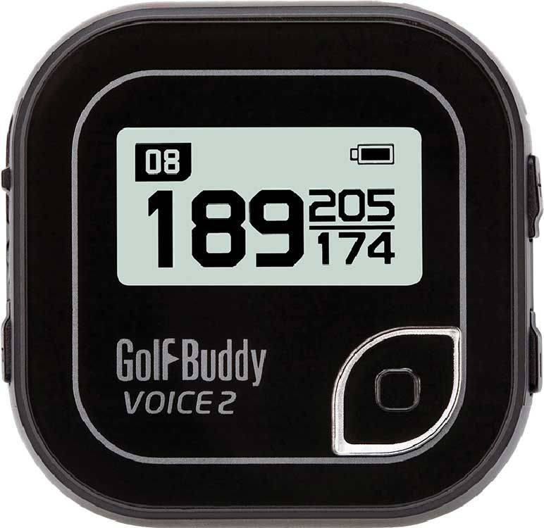 GolfBuddy Voice 2 Golf GPS, Black
