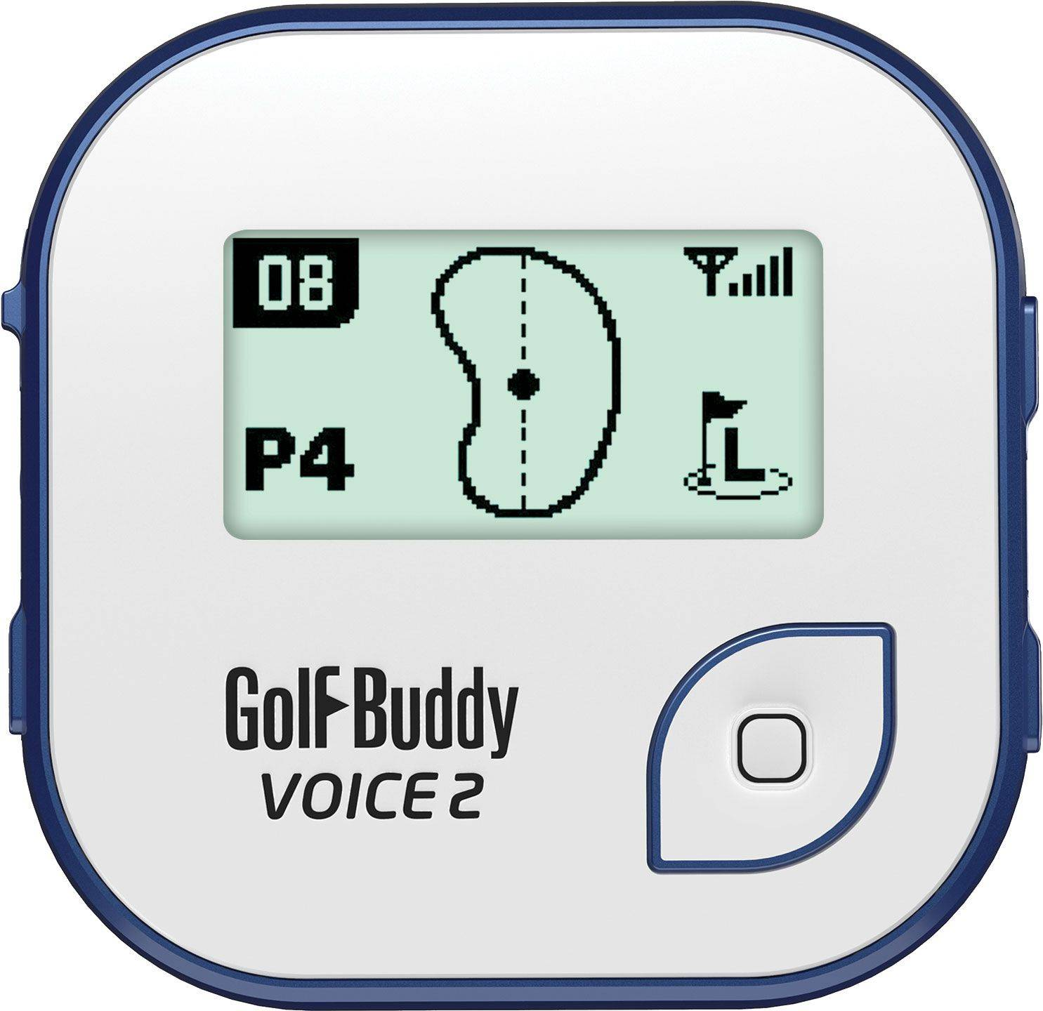 GolfBuddy Voice 2 Golf GPS, Blue