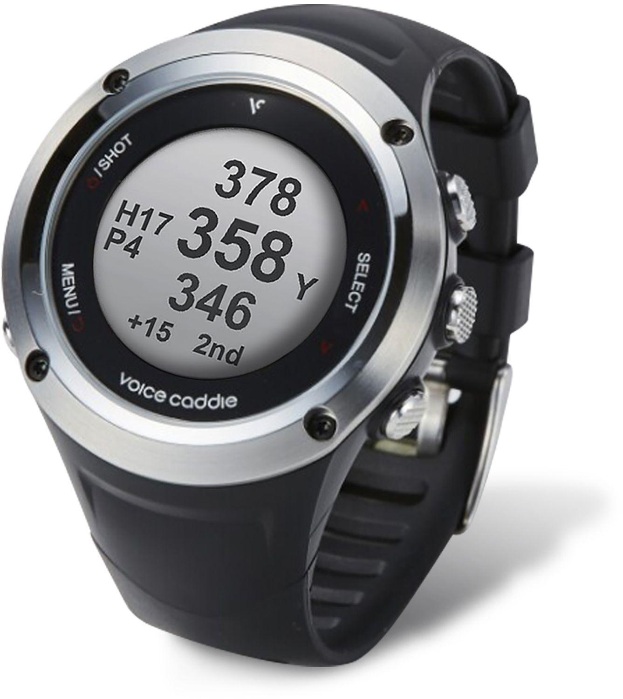 Voice Caddie G2 Hybrid Golf GPS Watch w/ Slope, Black
