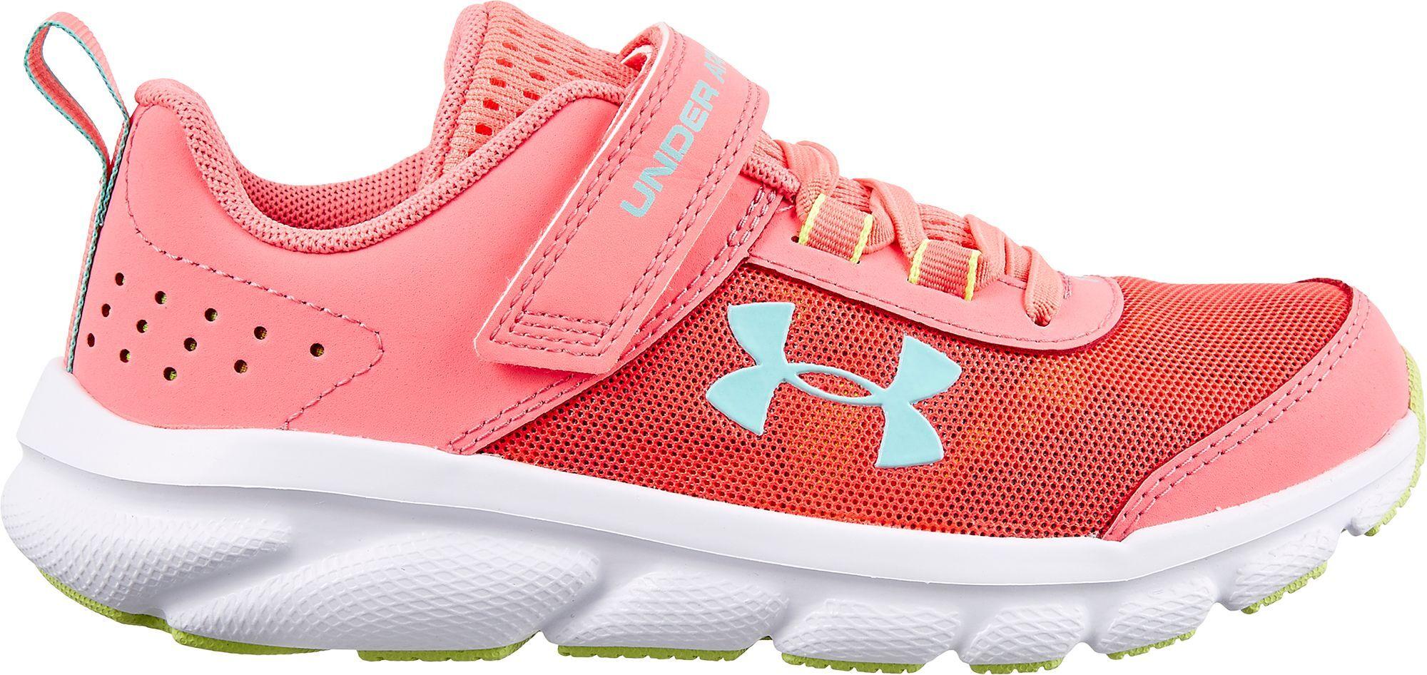 Under Armour Kids' Preschool Assert 8 Running Shoes, Boys', Pink