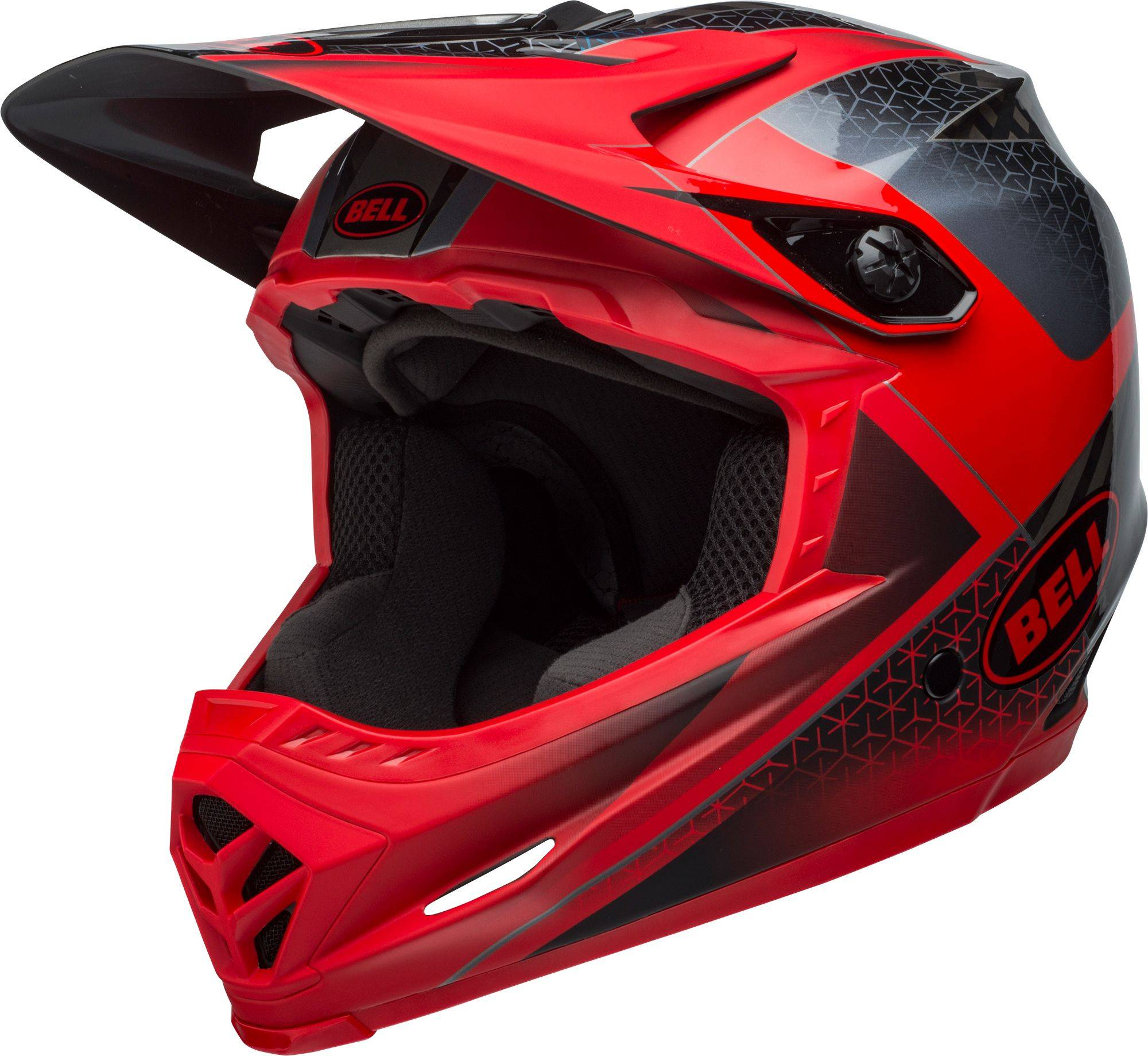 Bell Adult Full-9 Bike Helmet, XS/S, Crimson/Black/White