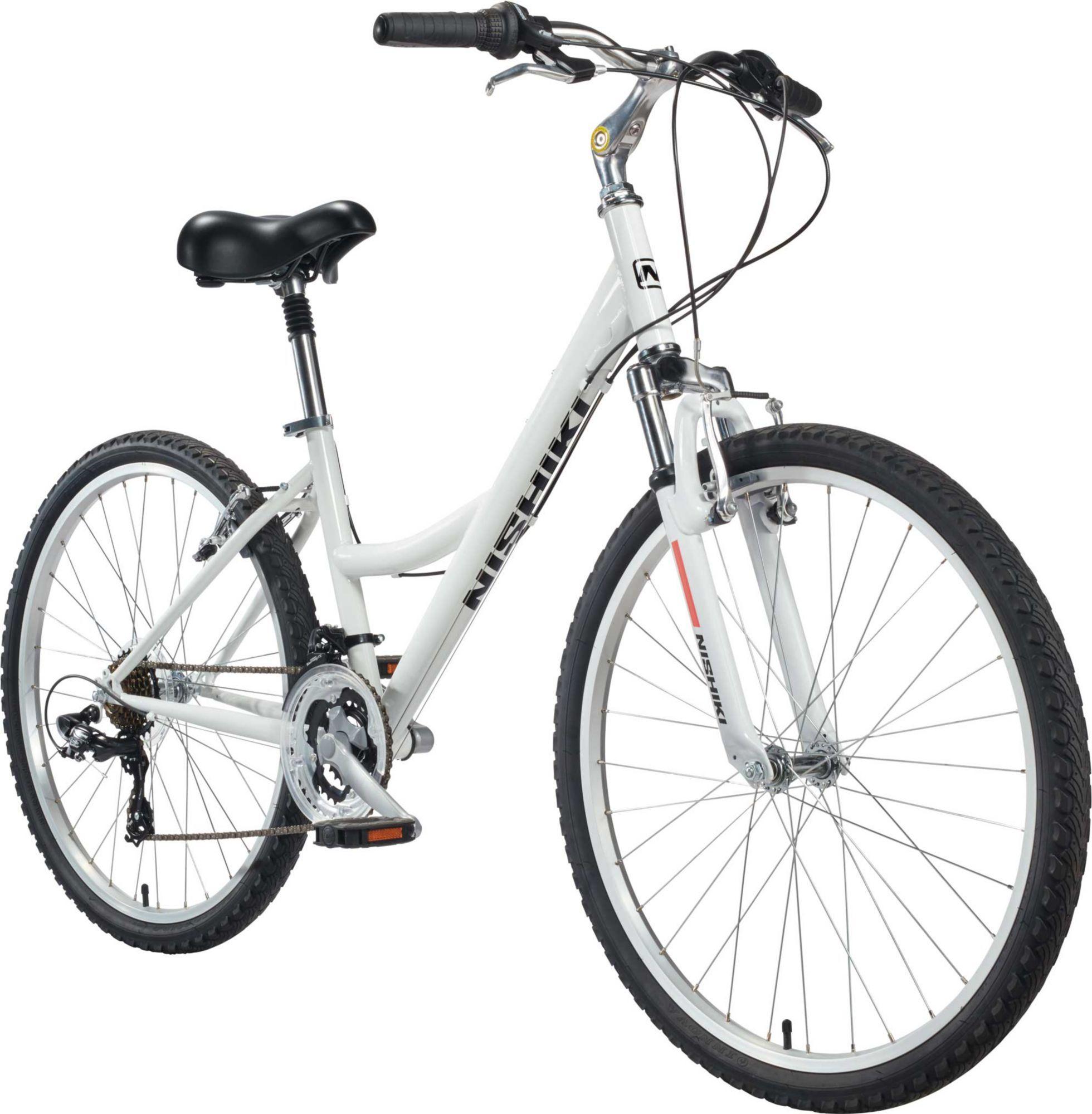 Nishiki Women's Tamarack Comfort Bike, White