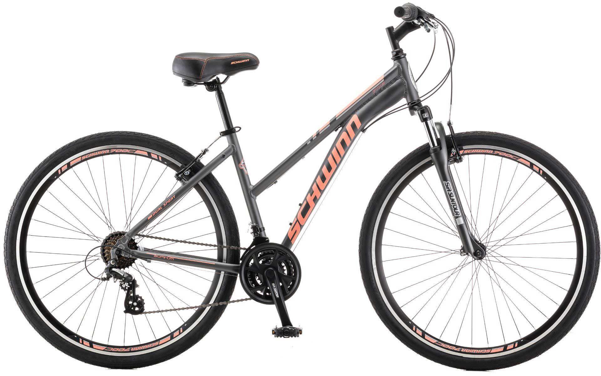 Schwinn Women's GTX 3 Hybrid Bike, Gray
