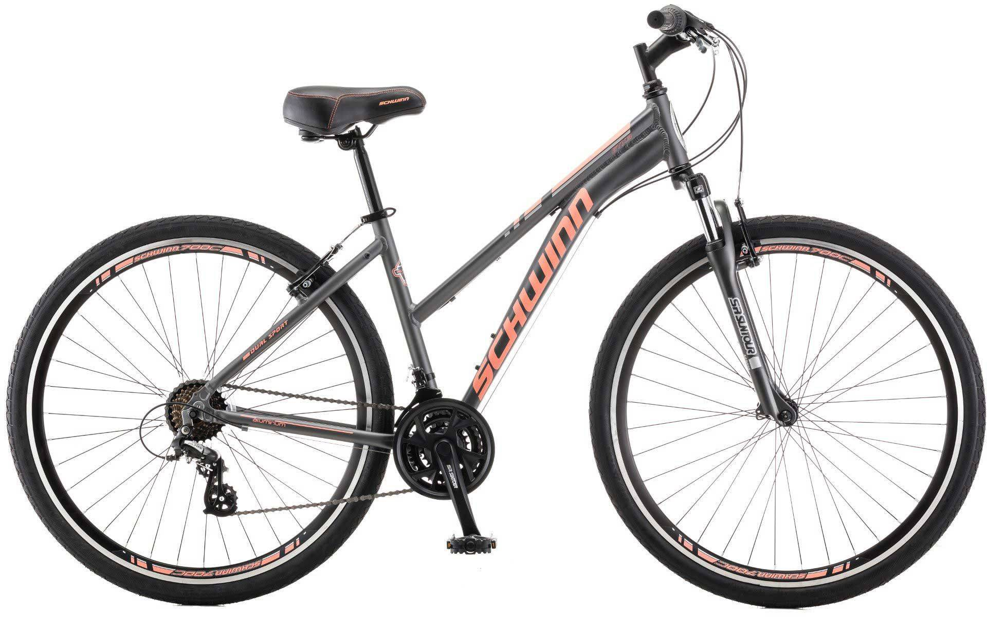 Schwinn Women's GTX 3 Hybrid Bike, Gray