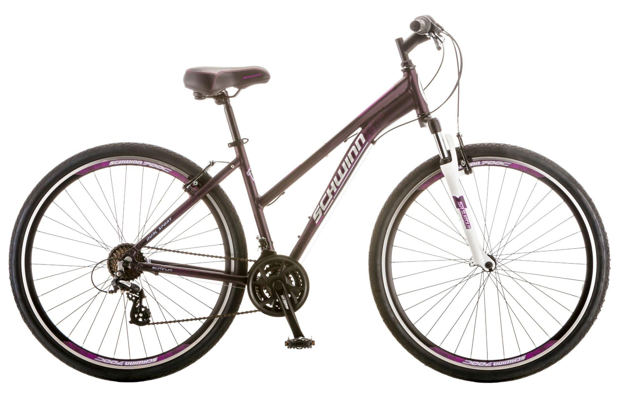 Schwinn Women's GTX 3 Hybrid Bike, Matte Purple