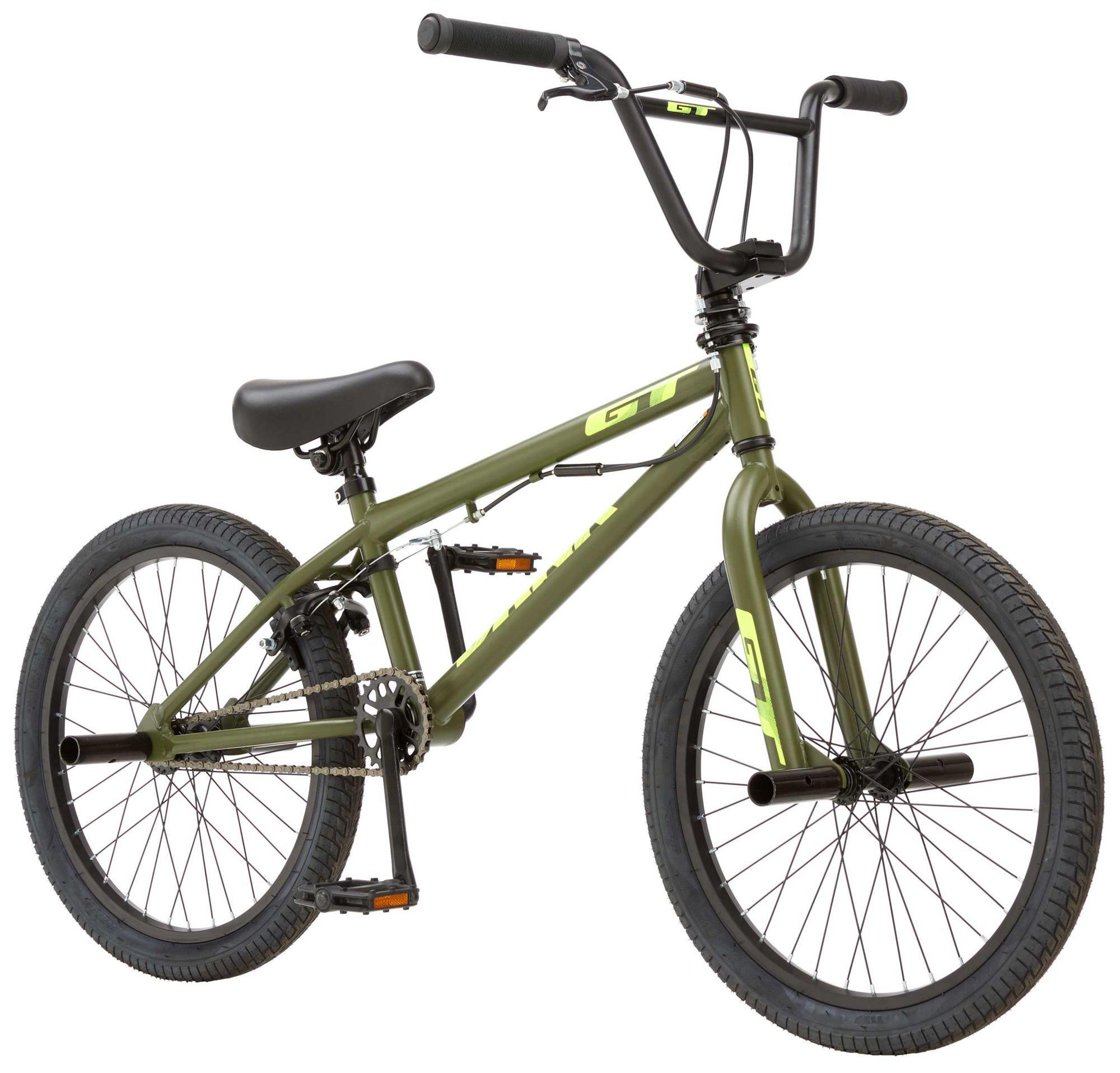 GT Kids' Bank BMX Bike, 20 IN., Green