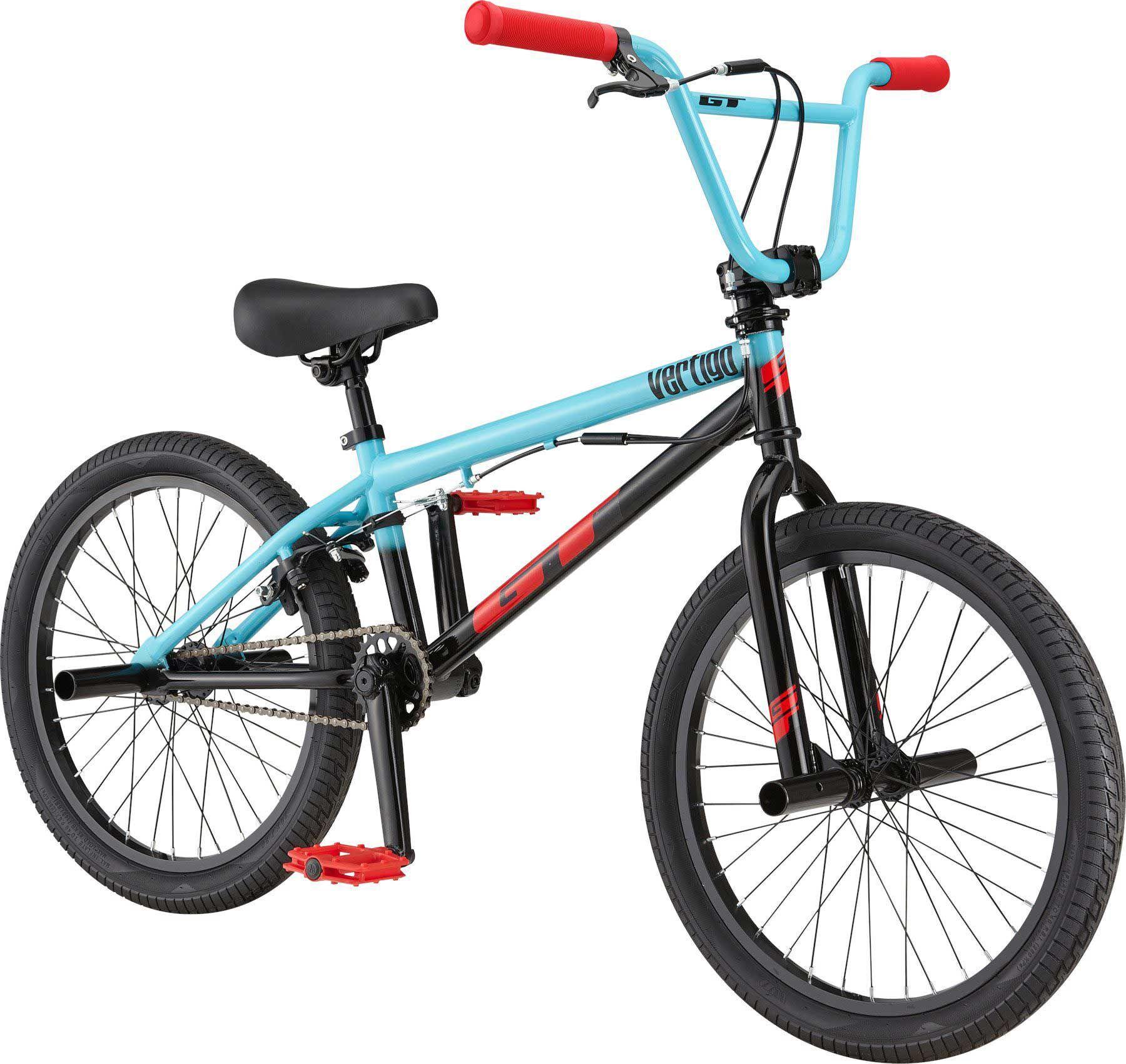 "GT Kids' Vertigo 20"" BMX Bike, 20 IN., Aqua"