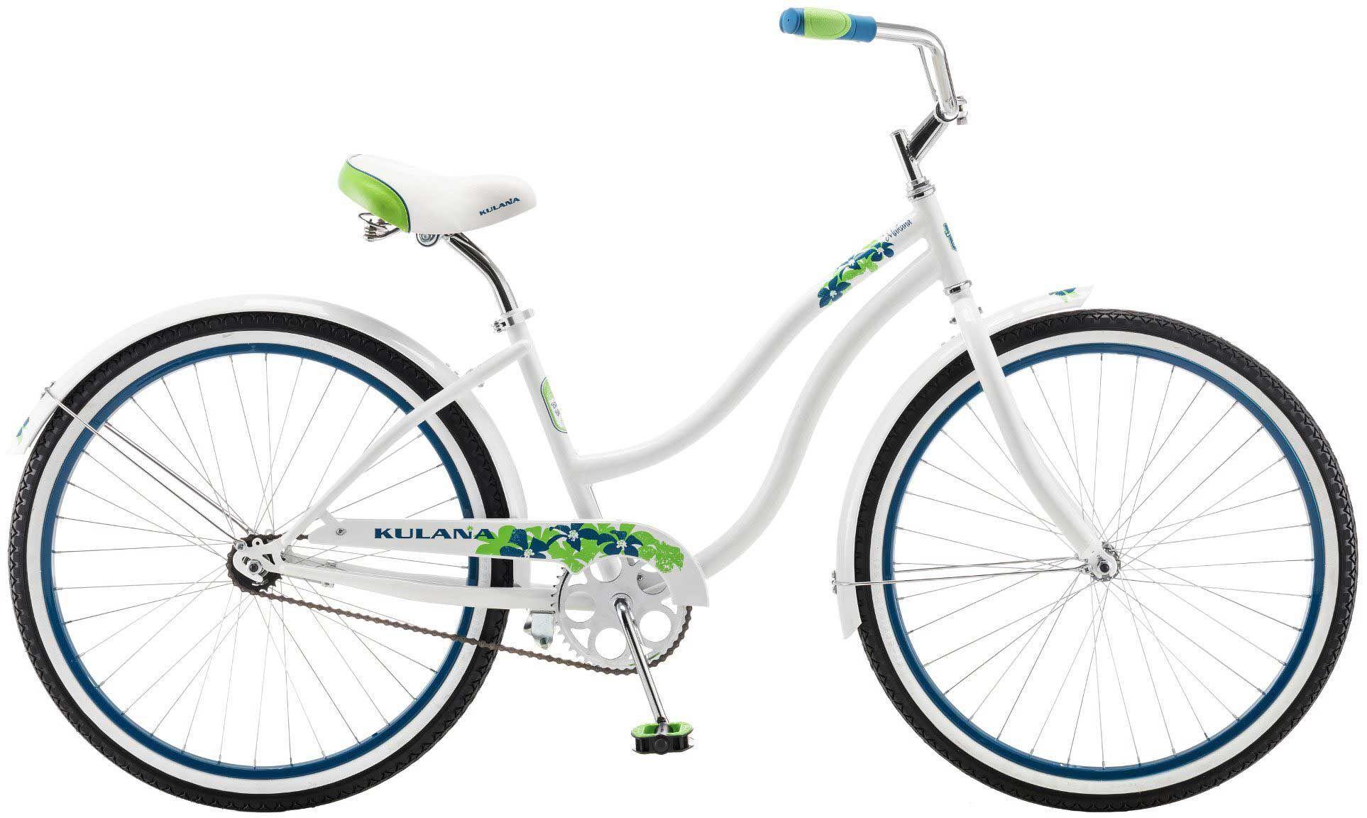 Kulana Women's Makana 26'' Cruiser Bike, White