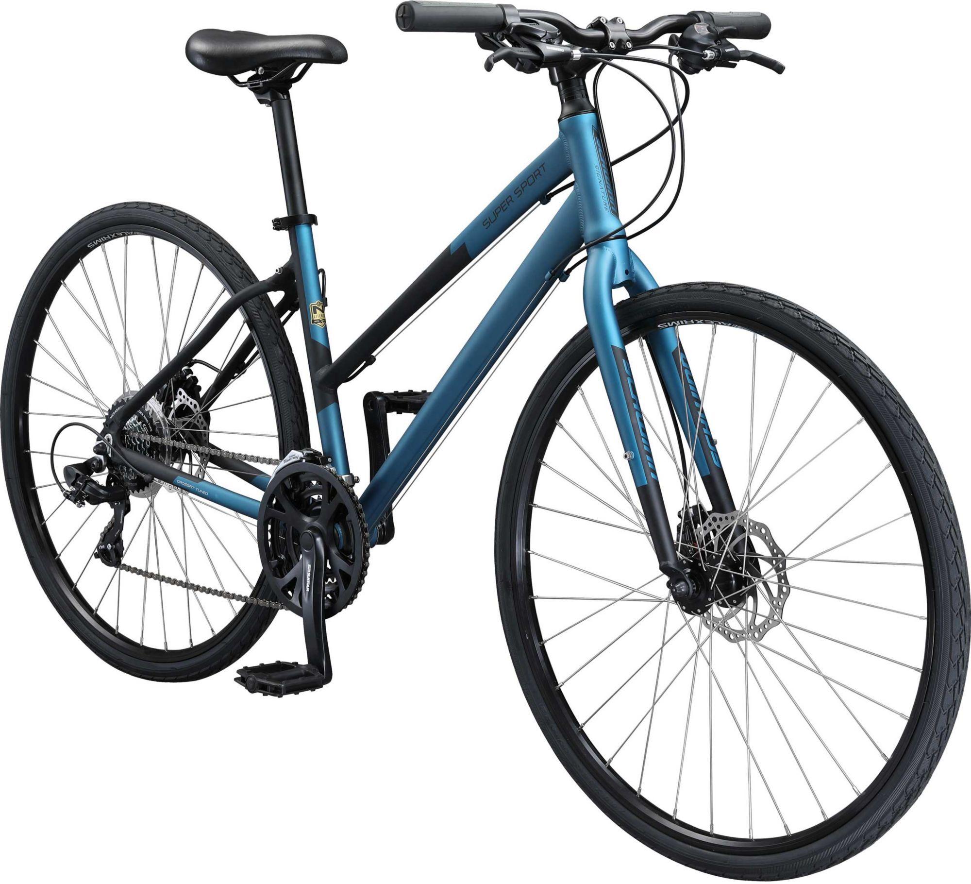 Schwinn Signature Women's Super Sport Hybrid Bike, Blue
