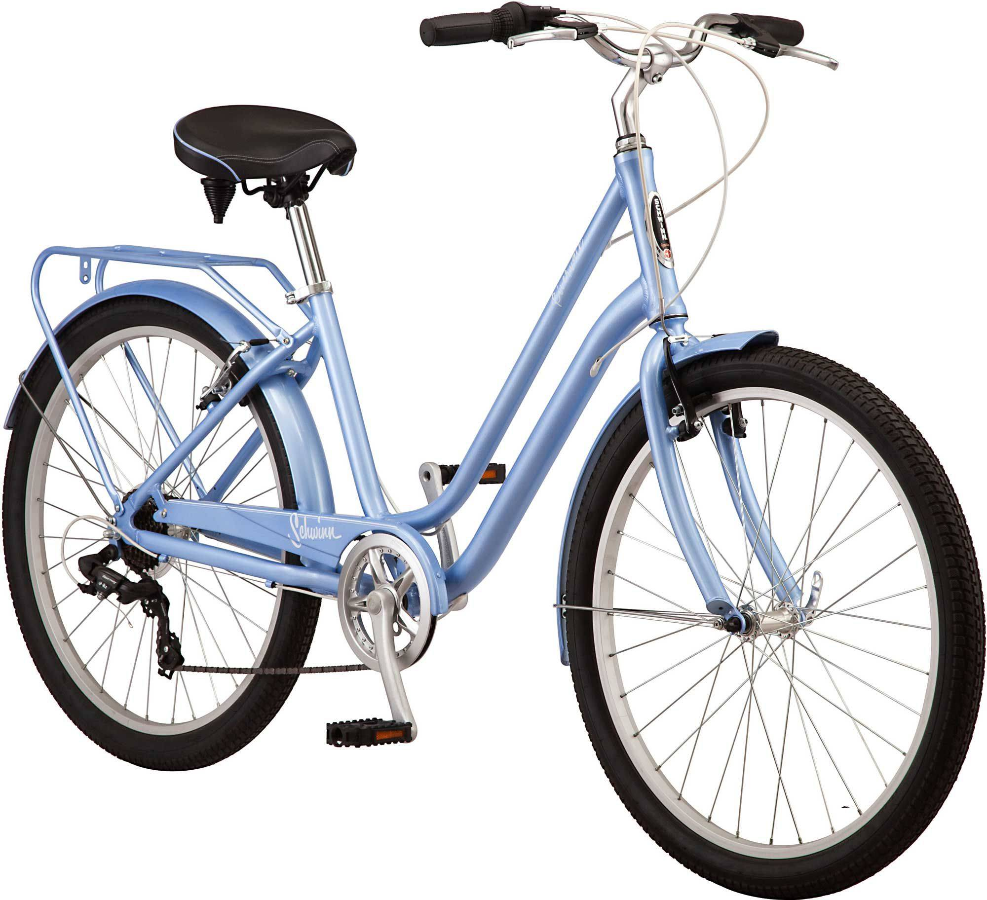 "Schwinn Signature Schwinn Women's Riverwalk 26"" Bike, Periwinkle"