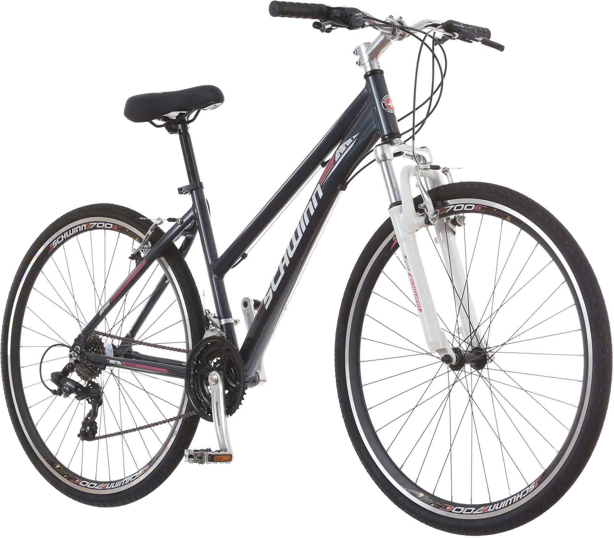 Schwinn Women's GTX 2 Hybrid Bike, Purple