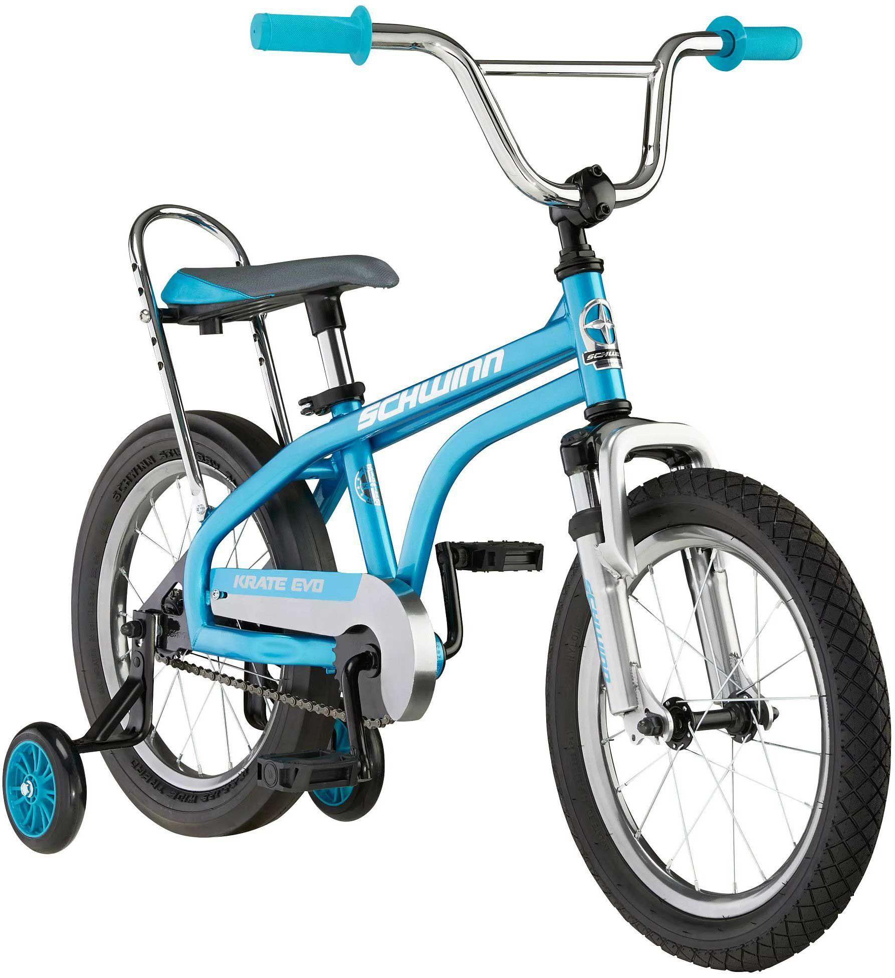 "Schwinn Youth 16"" Krate EVO Bike, 16 IN., Blue"